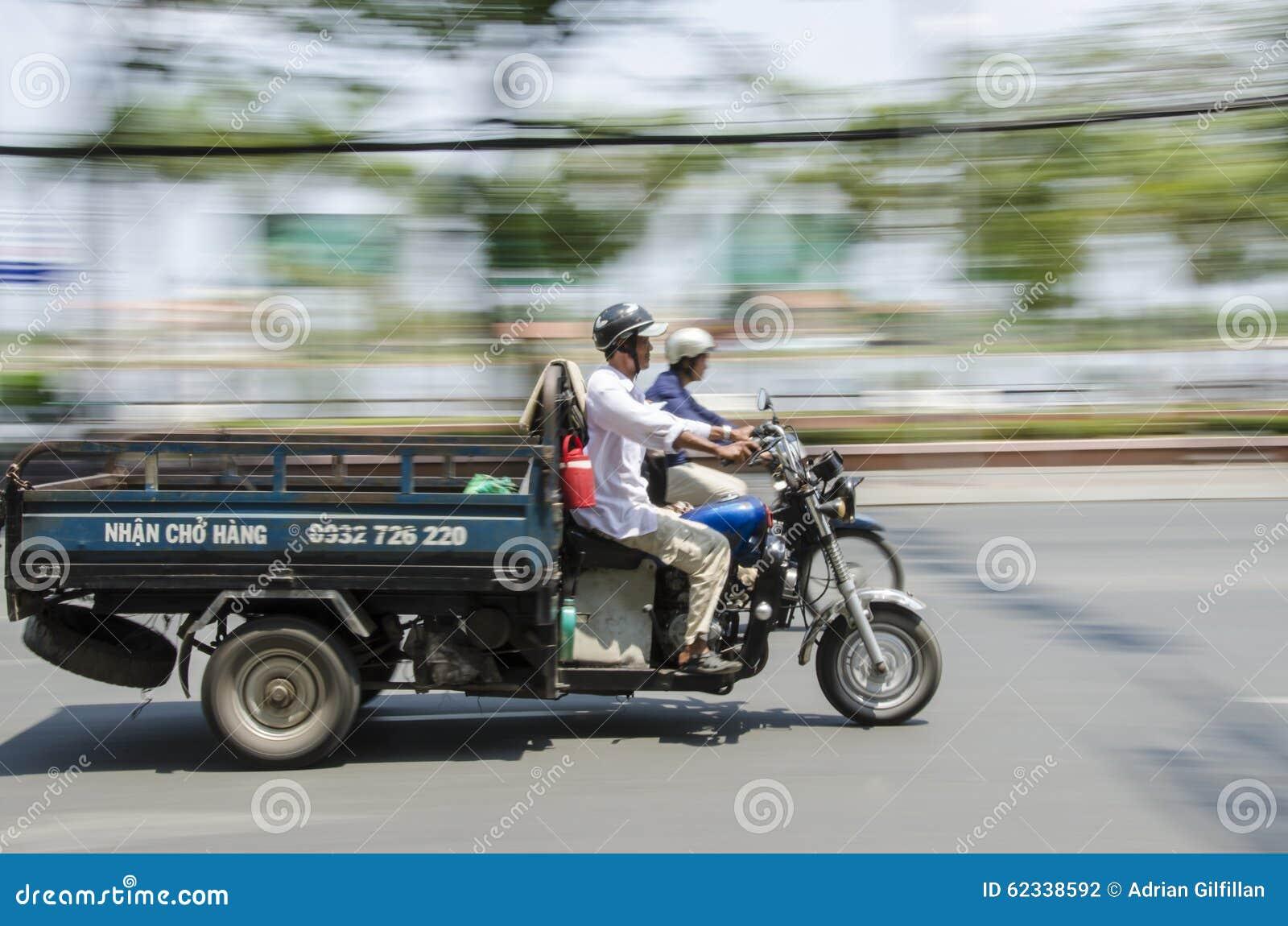 Camion expédiant Vietnam de scooter