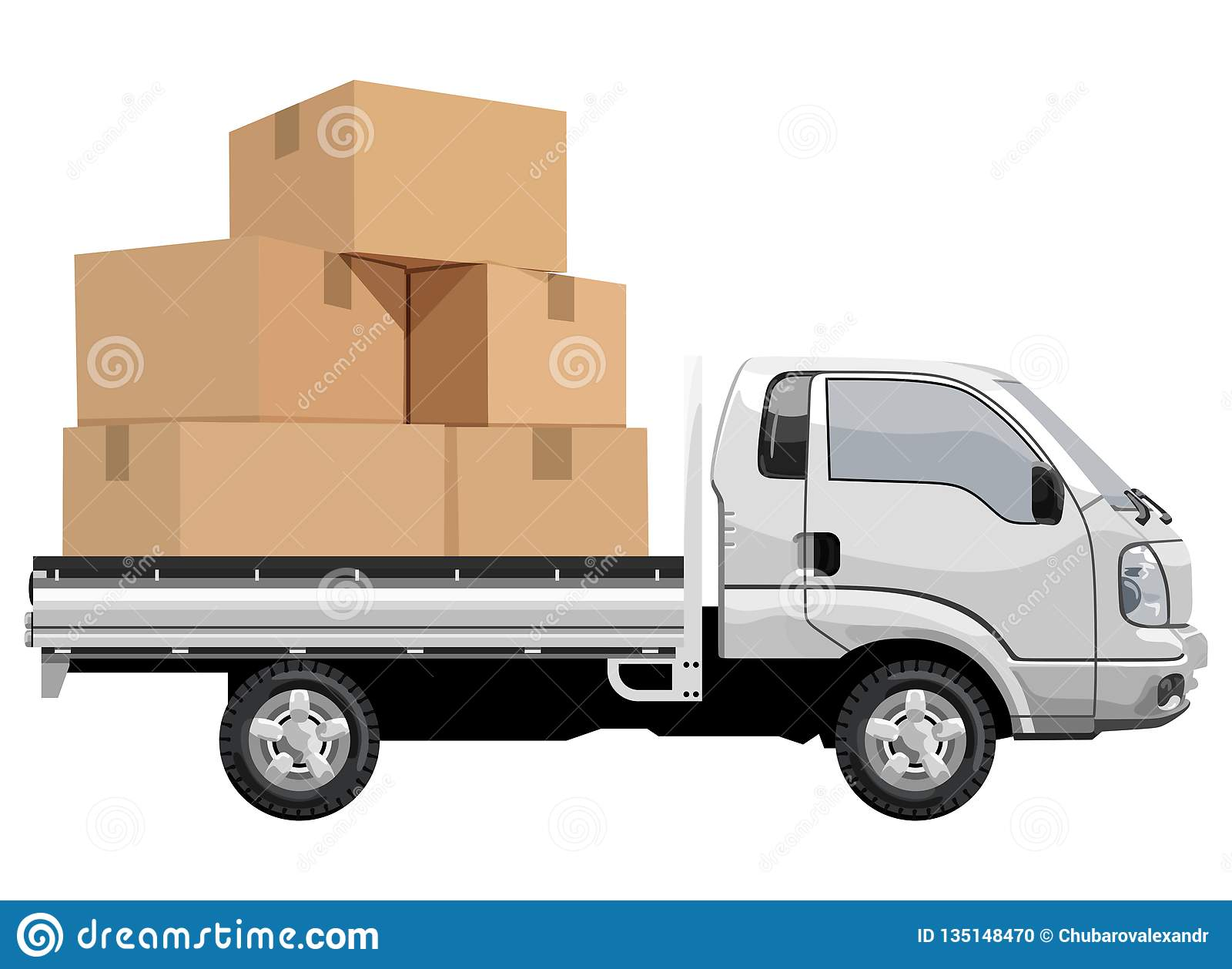 Camion riempito