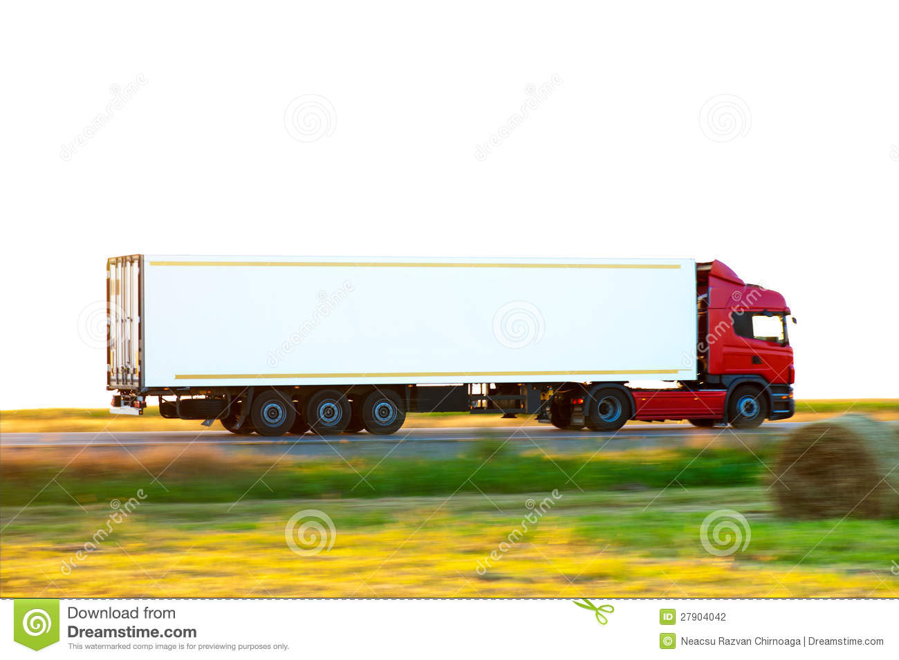 Camion rosso
