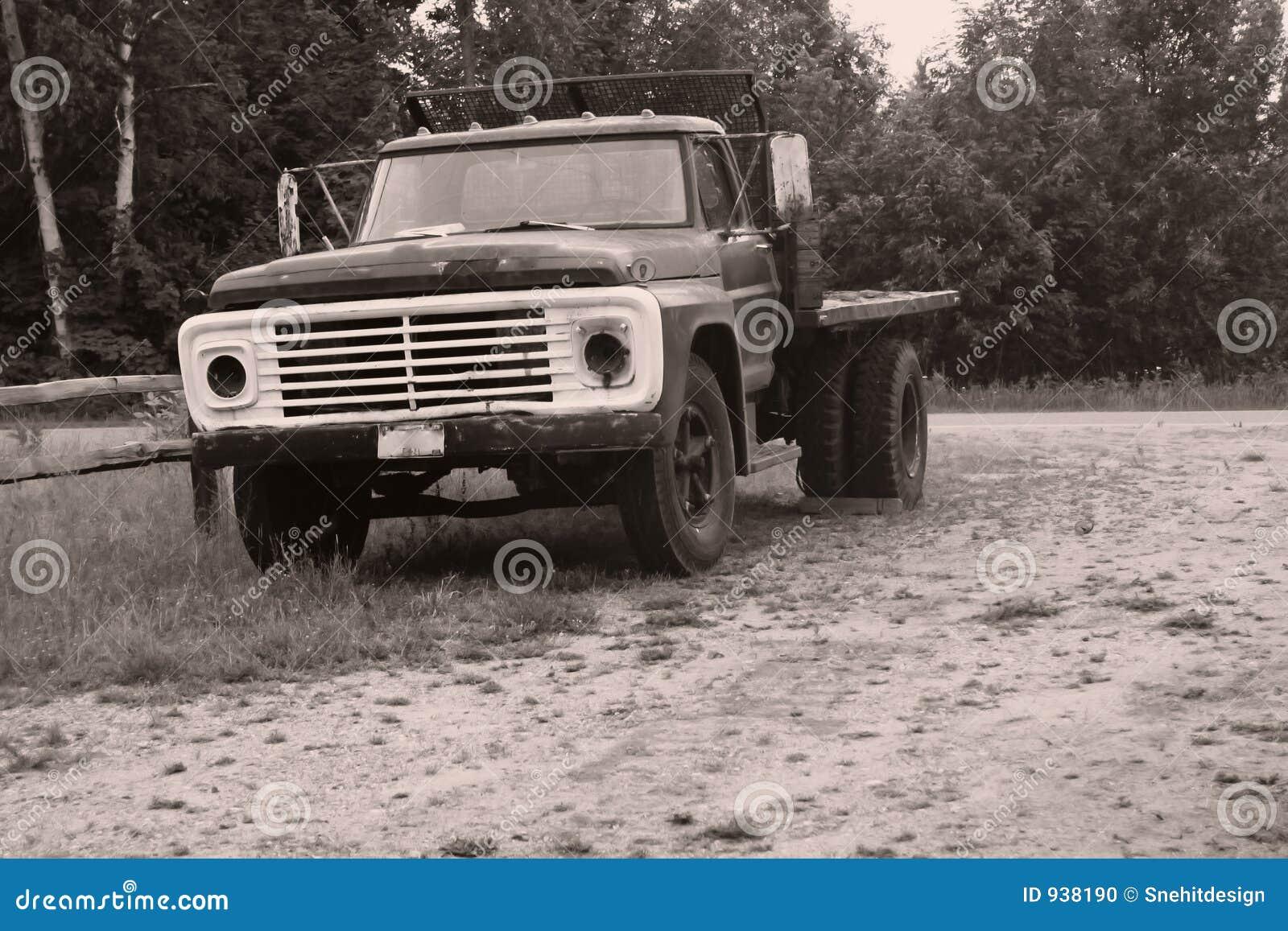 Camion rustique