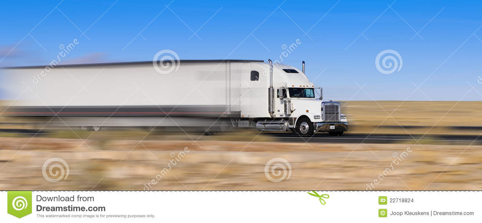 Camion sul movimento