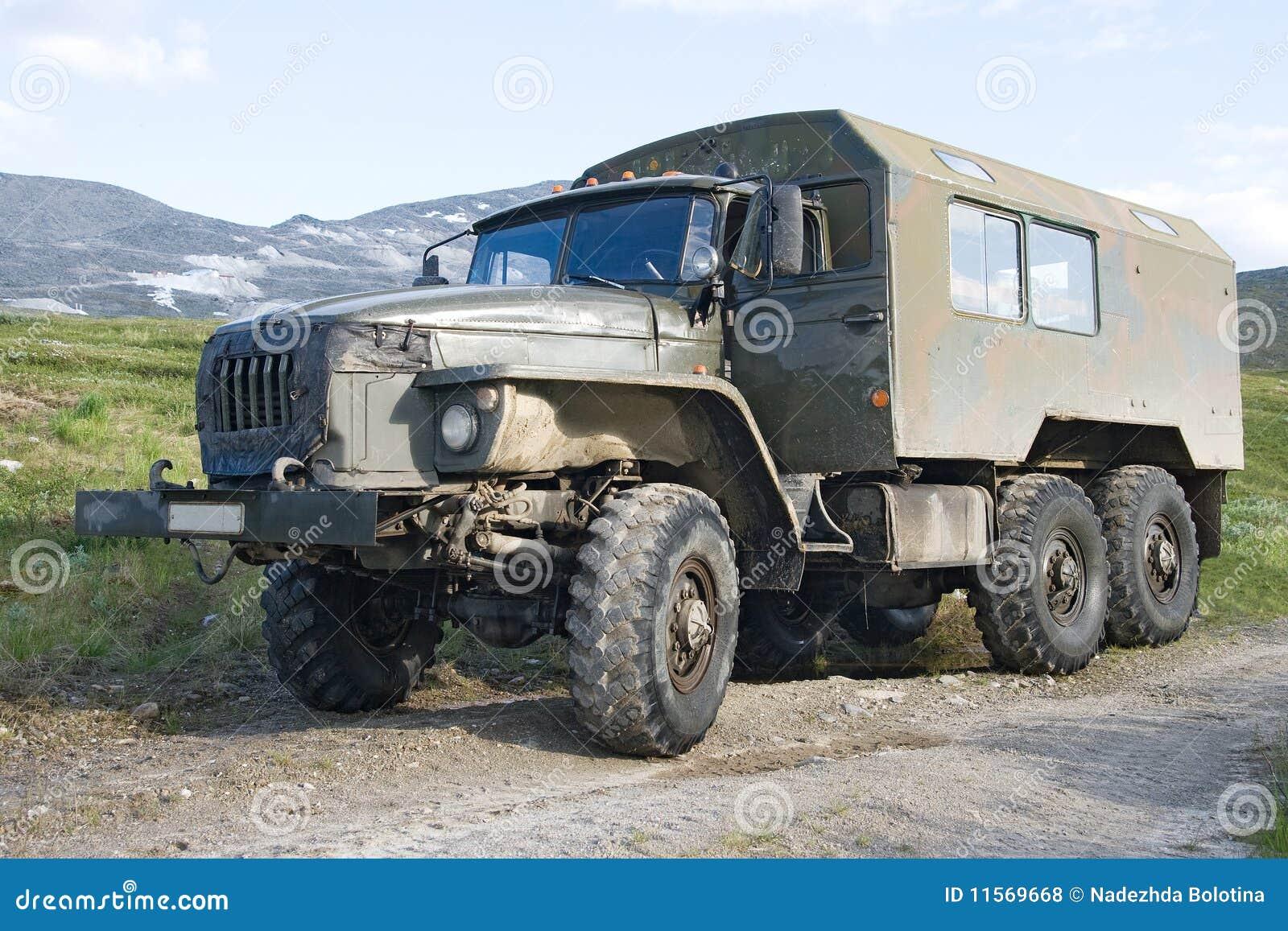 Camion Tous Terrains Ural Photo Stock Image Du Pouvoir