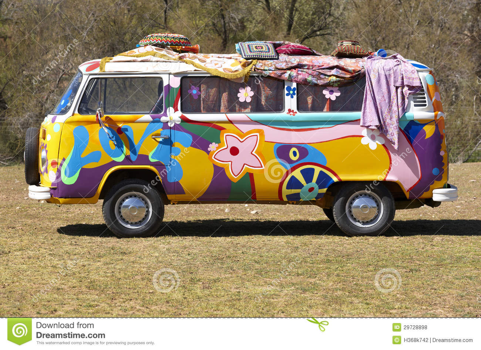 Camionete do Hippie