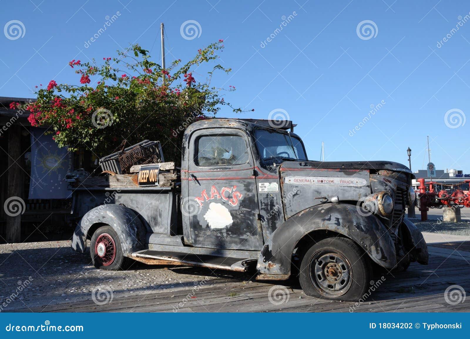 Camionete velha