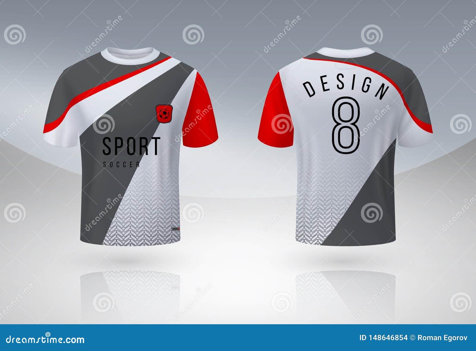 Camisa real?stica do futebol Zombaria uniforme do esporte do j?rsei acima, molde do projeto do t-shirt da equipe de futebol 3D Pe
