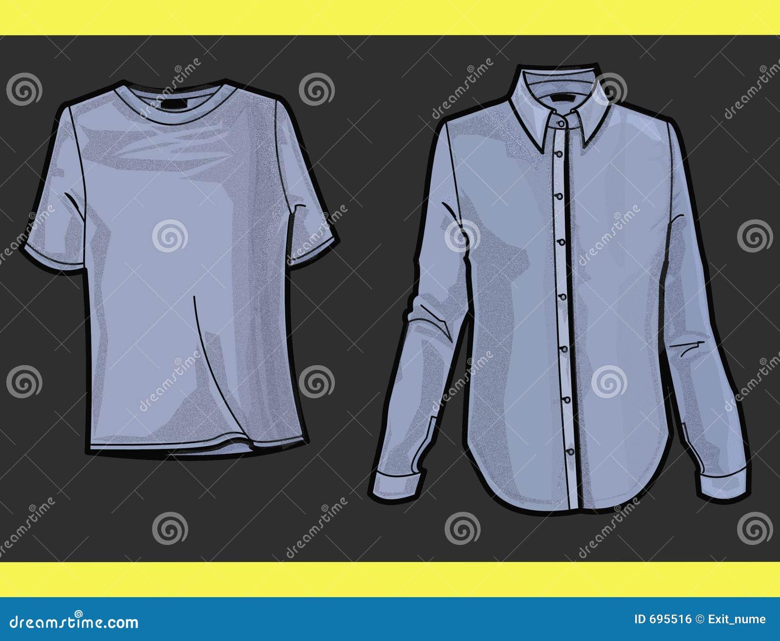 Camisa y camiseta de la placa de manera imagen de archivo - Planchadora de camisas ...