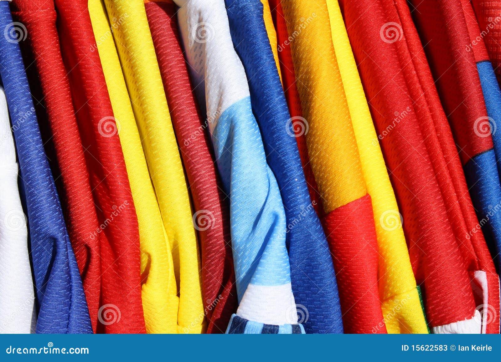 Camisas do futebol
