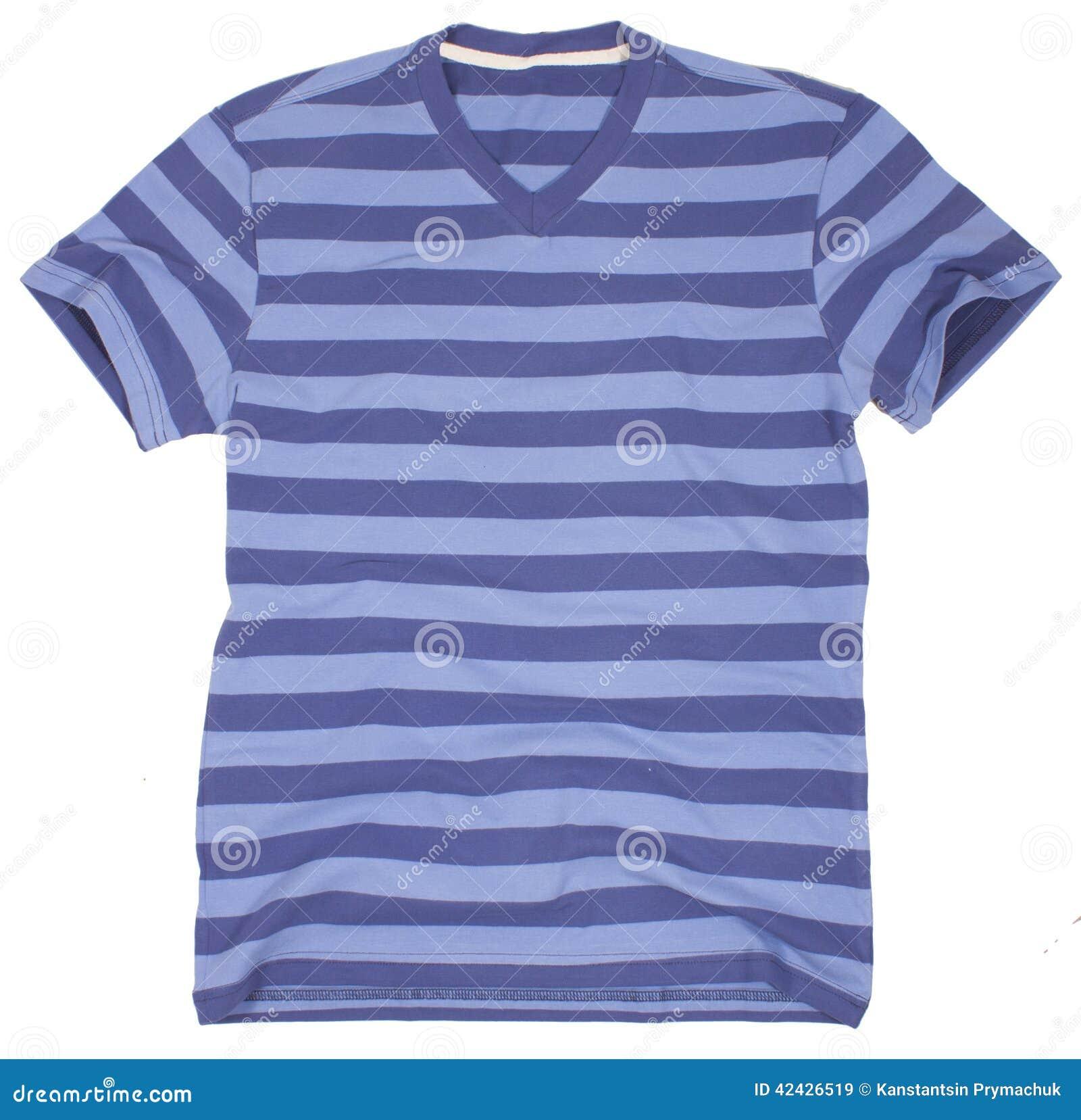 Camiseta de los hombres Aislado en un fondo blanco