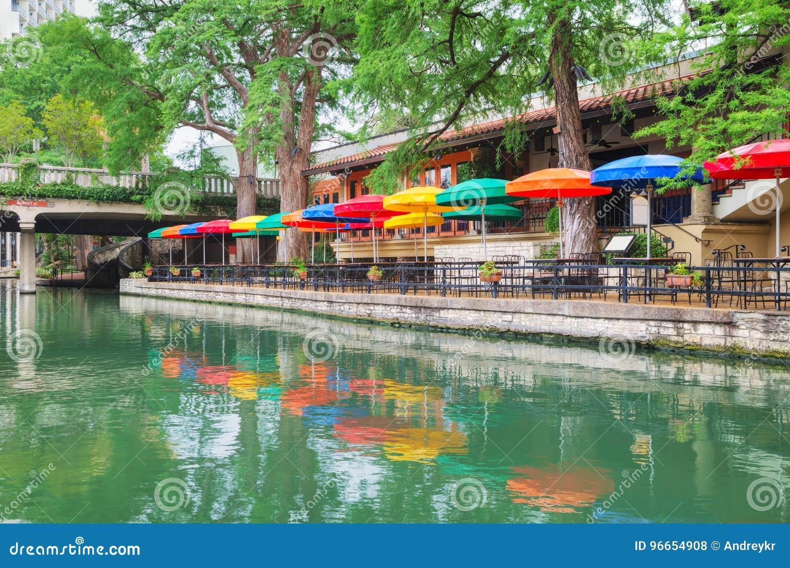 Camminata del fiume a San Antonio
