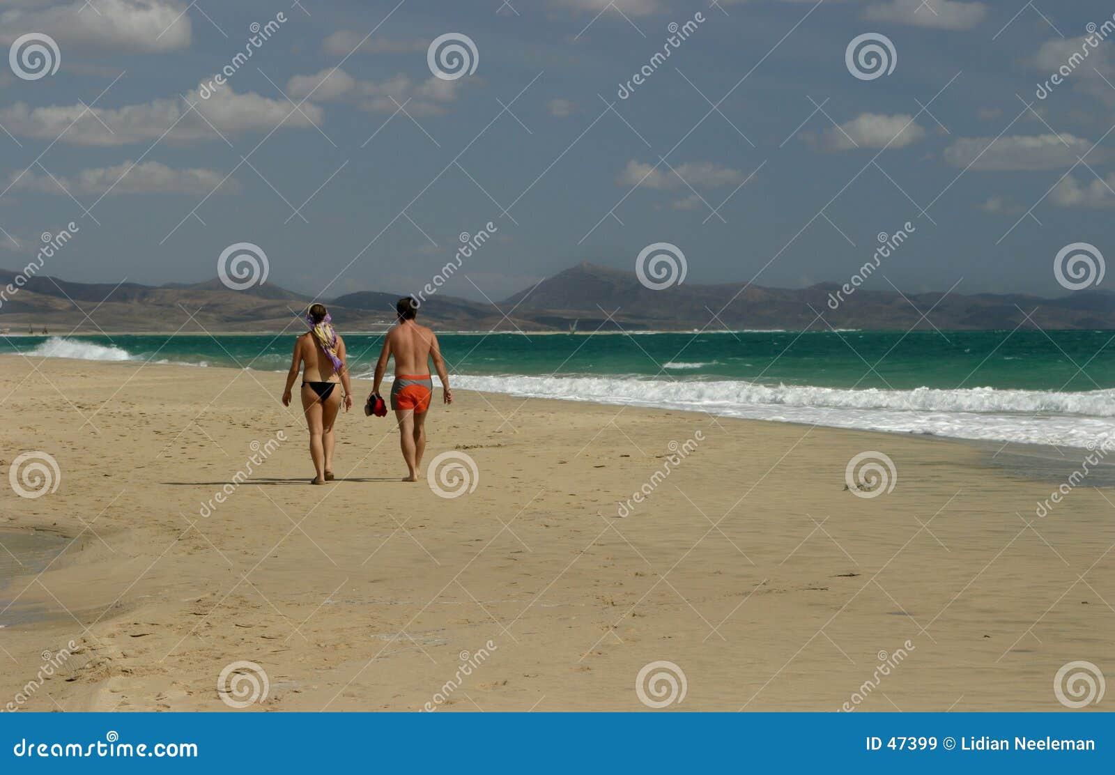 Camminata della spiaggia