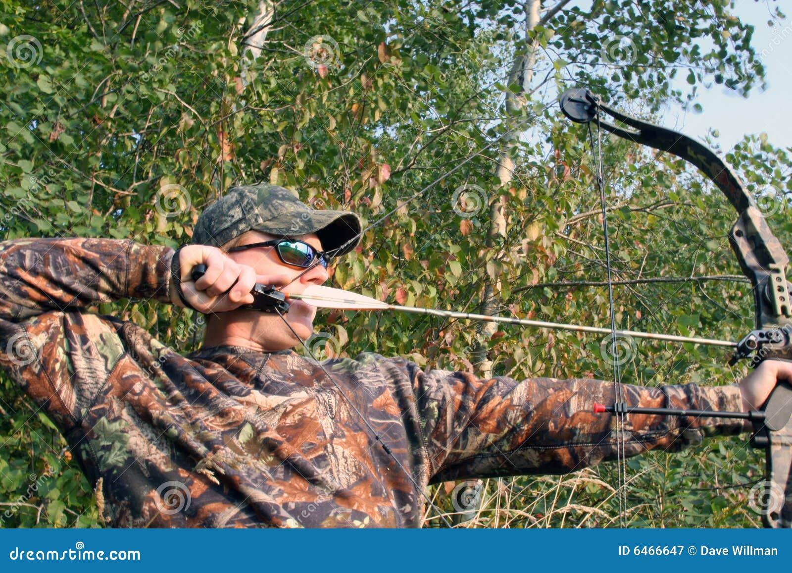 Cammo hunter bow