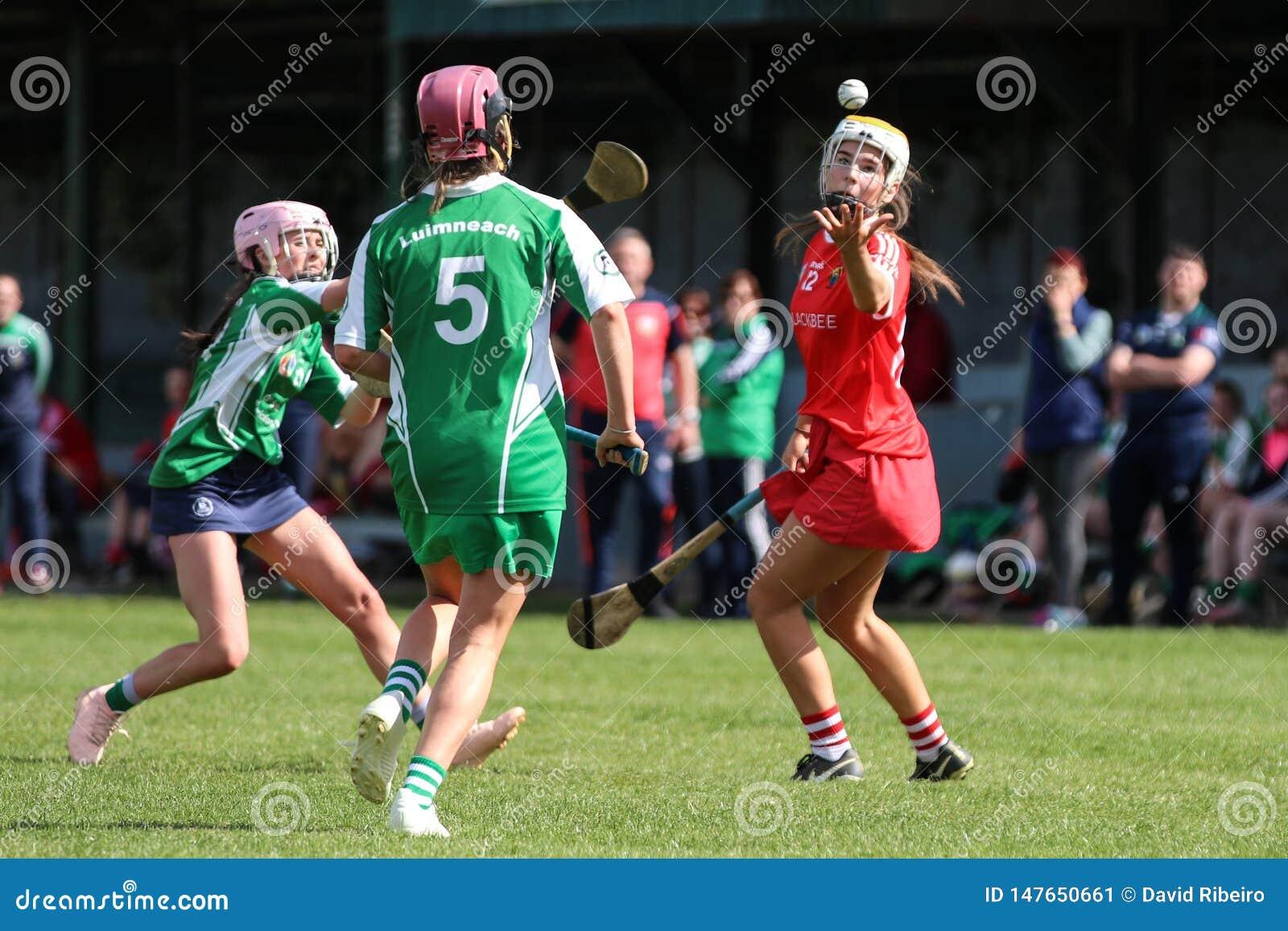 Camogie Junior Championship Semi Final - Limerick contre le li?ge
