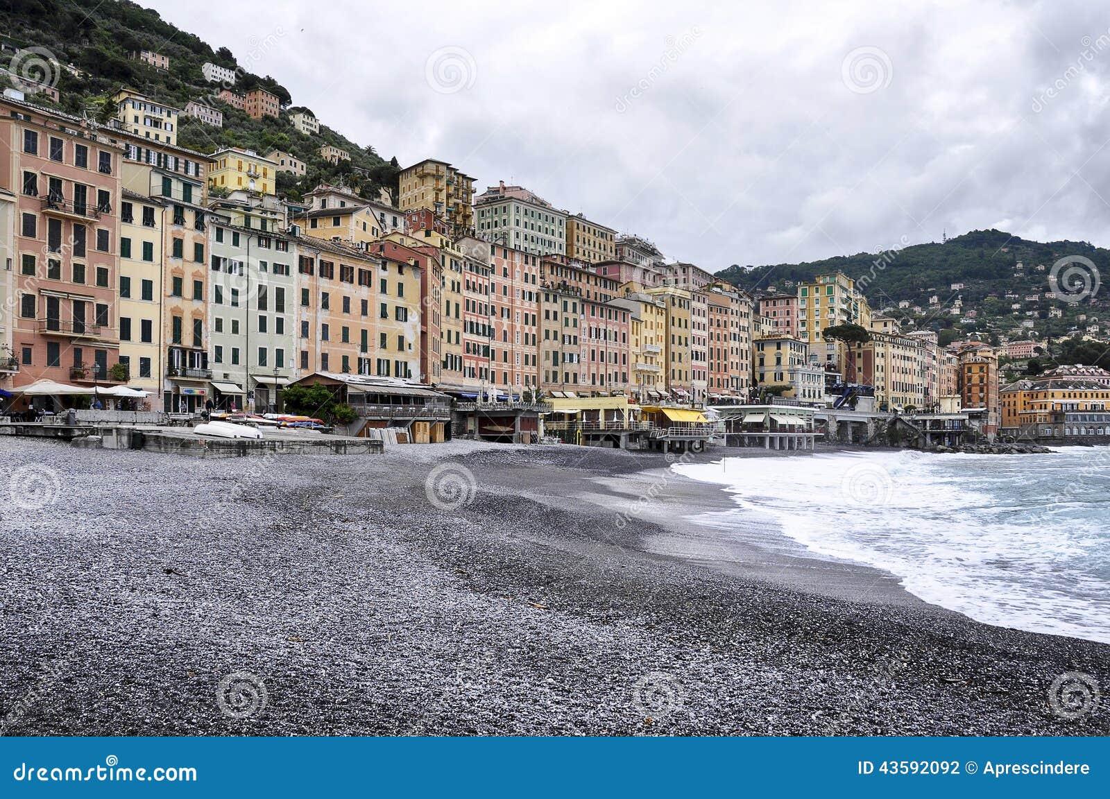 Camogli Italy  city photos gallery : View of Camogli: a small Italian fishing village and tourist resort.
