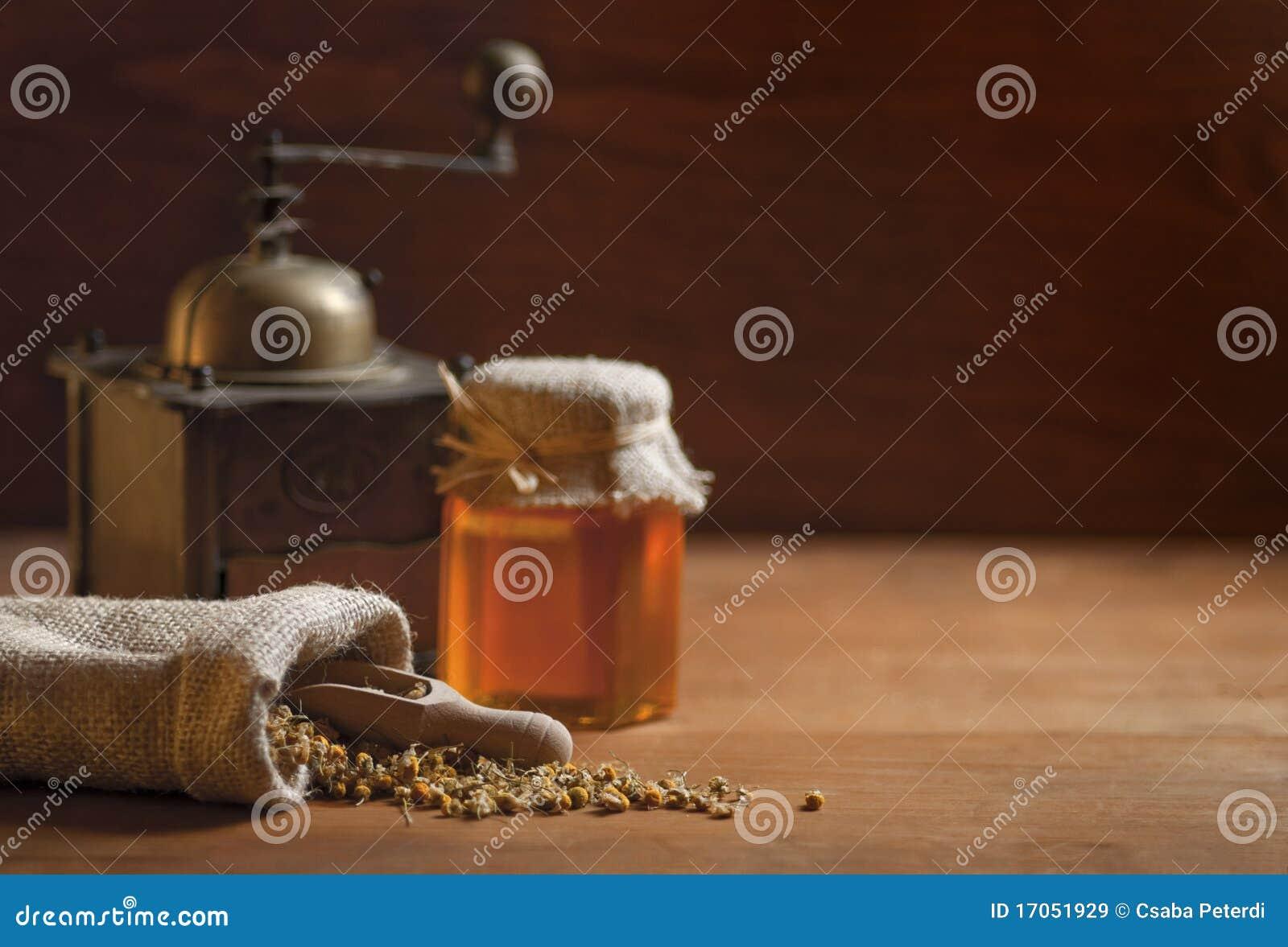 Camomile μέλι μύλων
