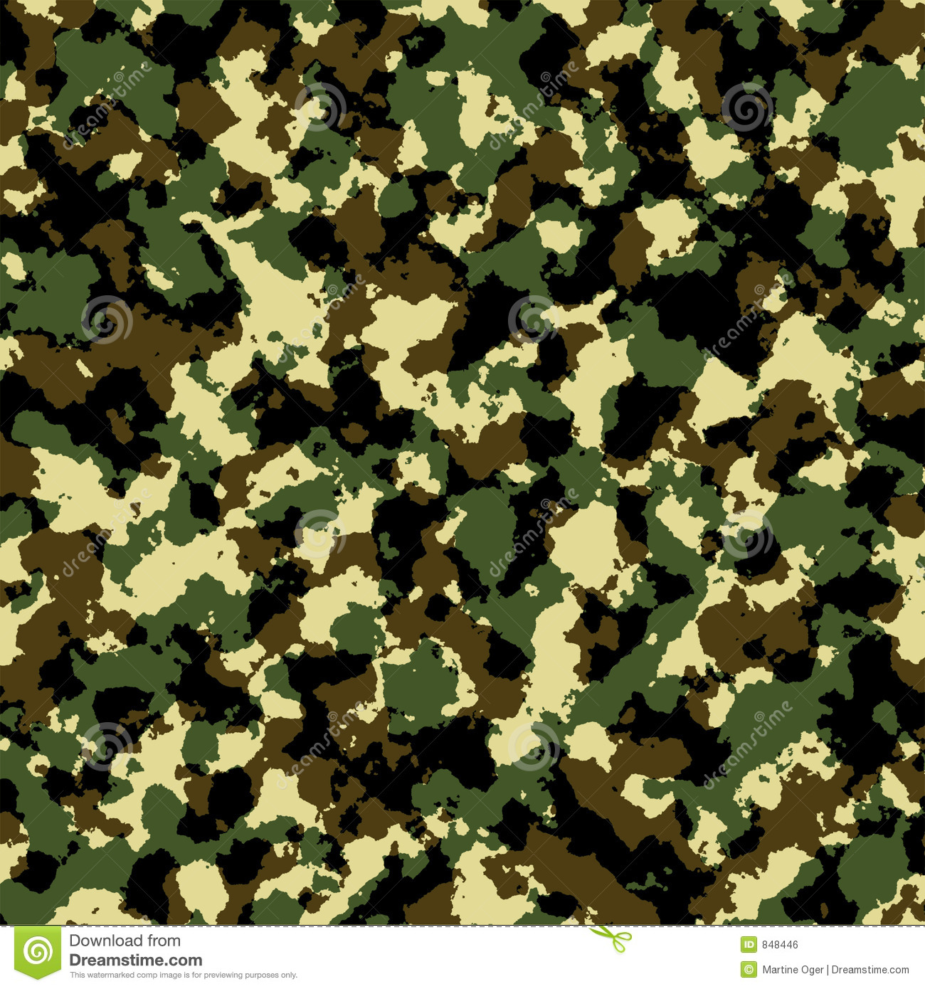 Camouflage army