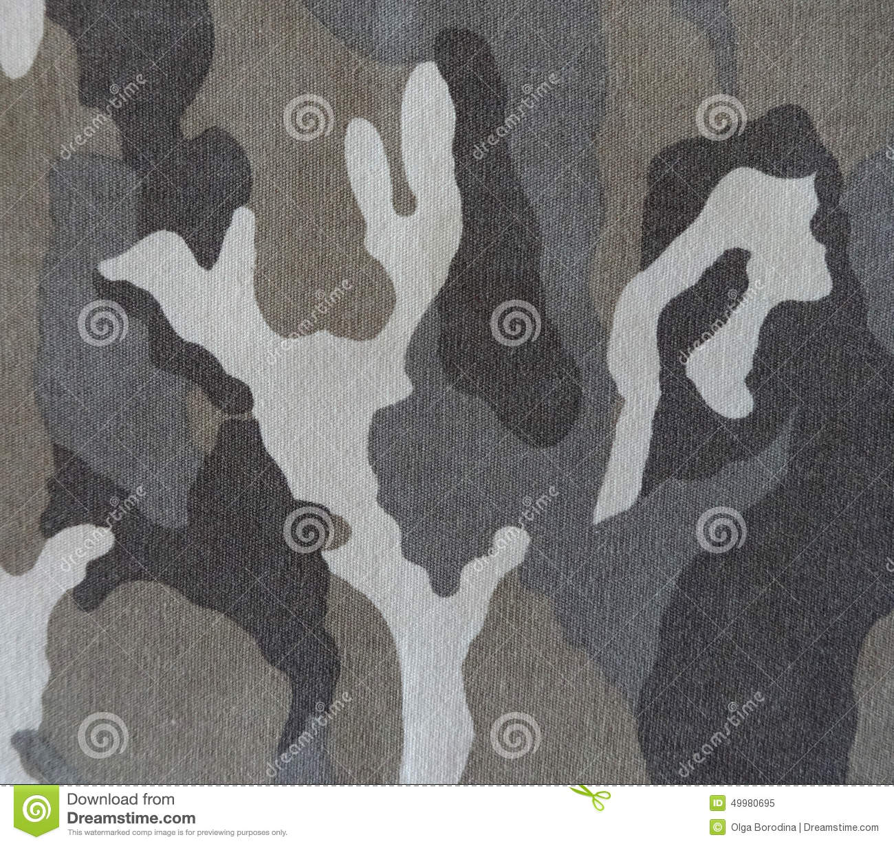 Camouflage Fabric Stock Image Image Of Fabric Sign 49980695
