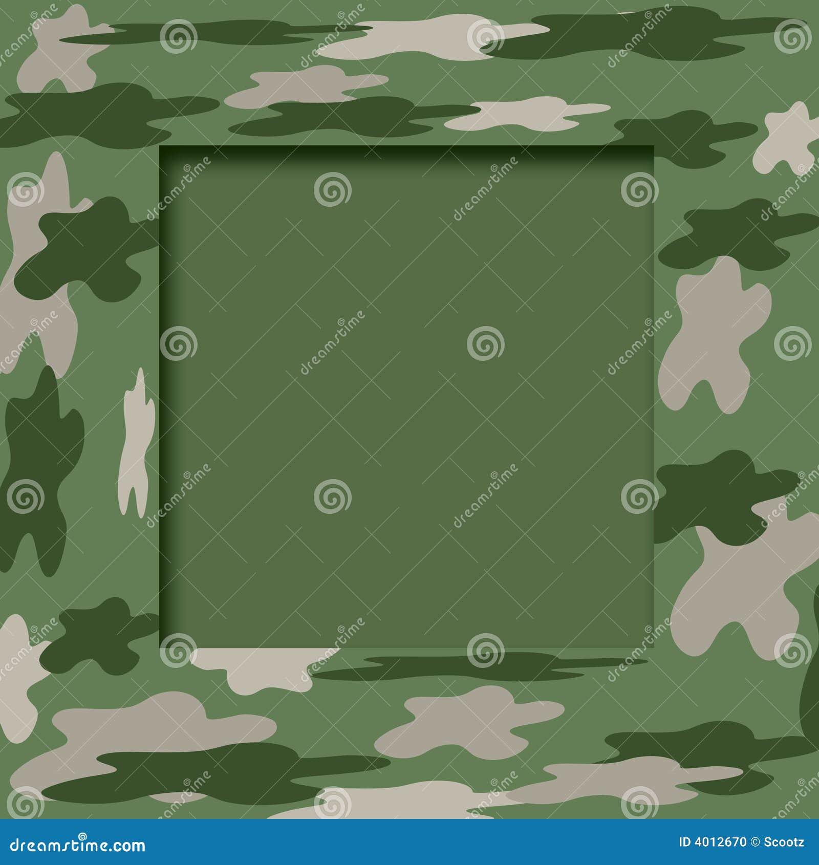 Camouflage frame stock illustration. Illustration of military - 4012670