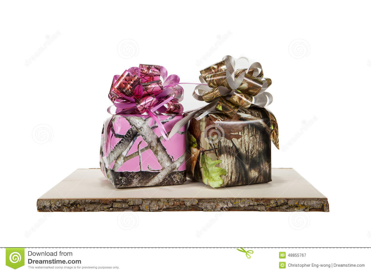 Camouflage Gifts stock image. Image of object, christmas - 48855767