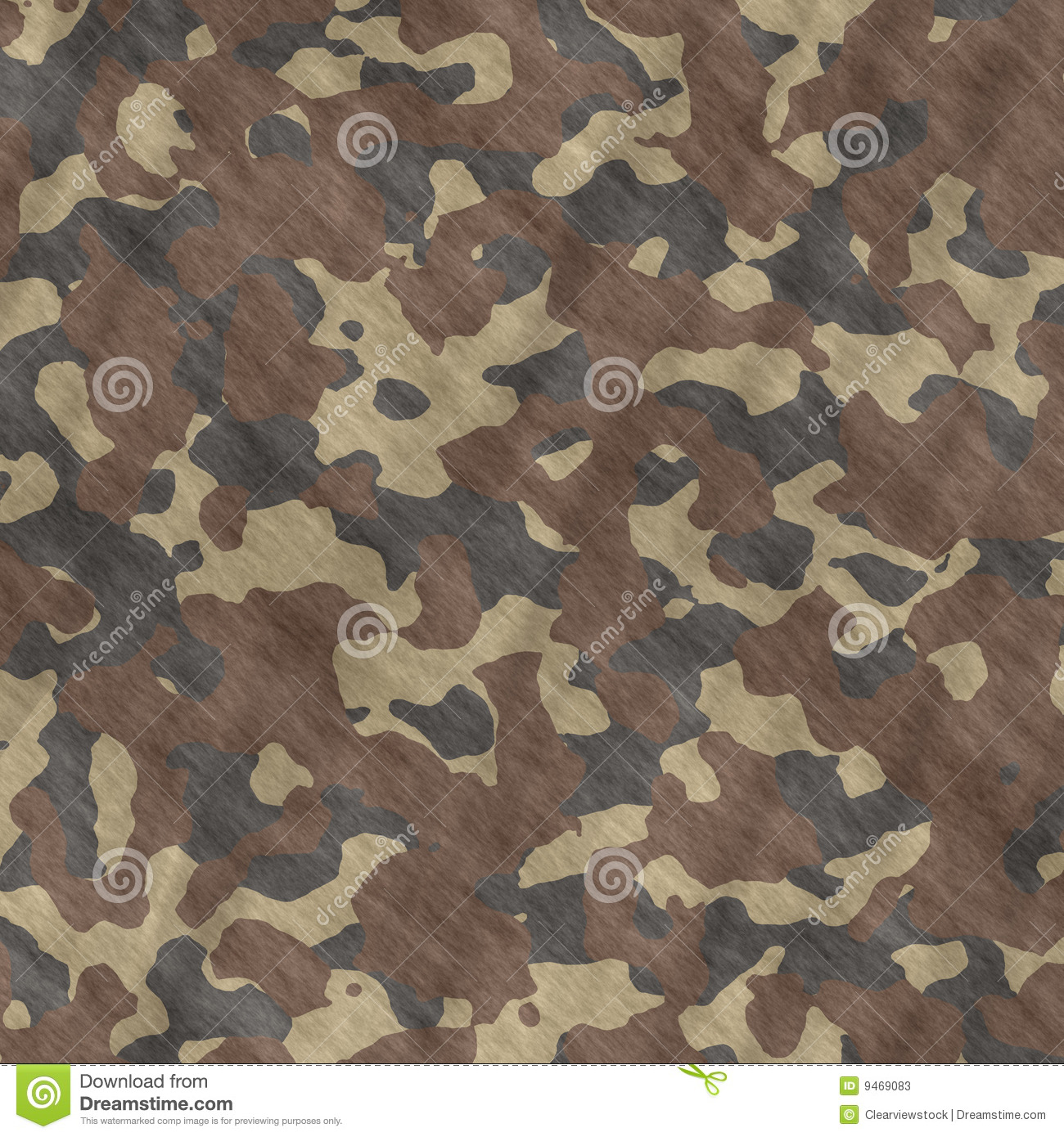 Camouflage Material Background Texture Stock Vector