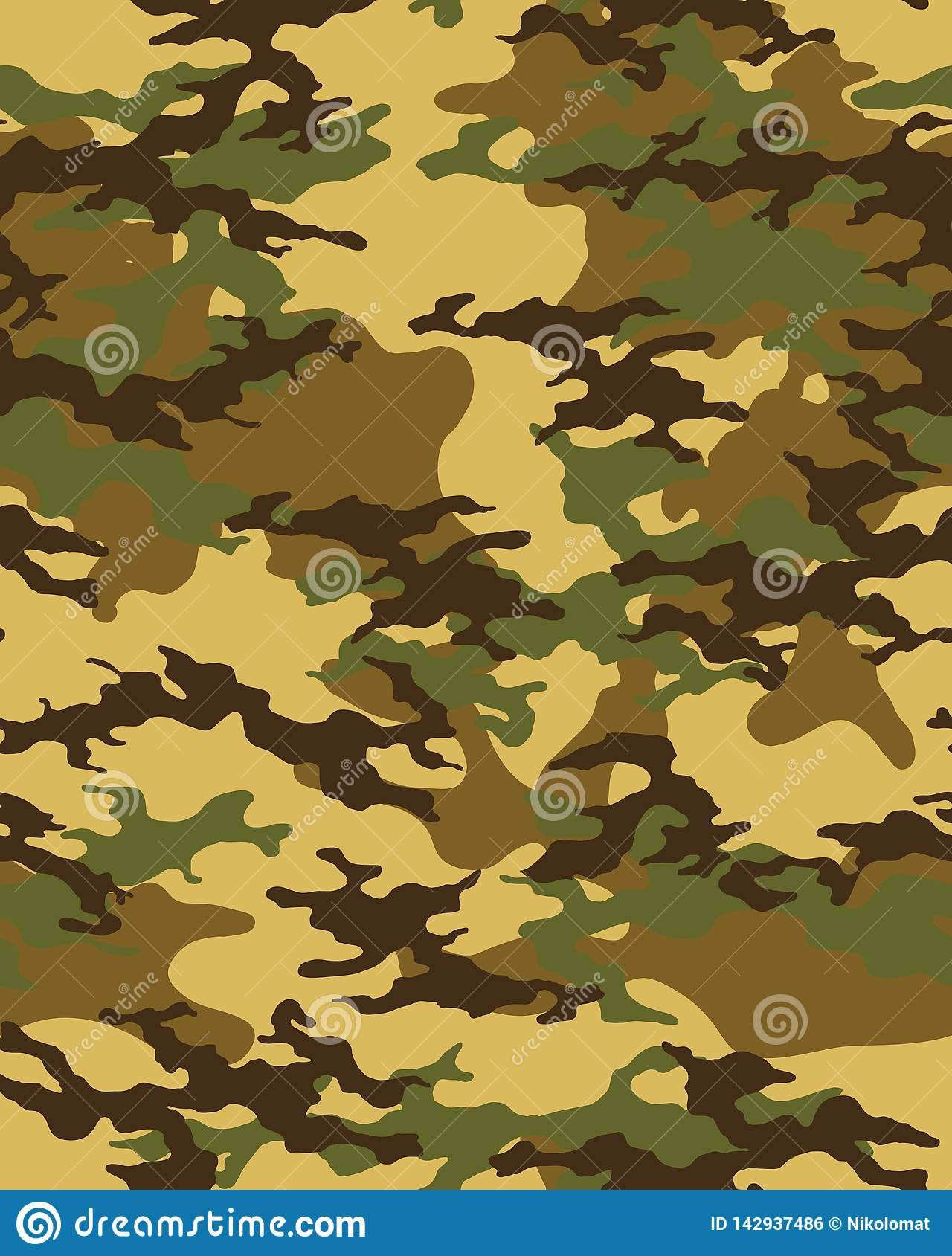 picture relating to Camo Printable called Camouflage Habit.Seamless Armed service Wallpaper Inventory