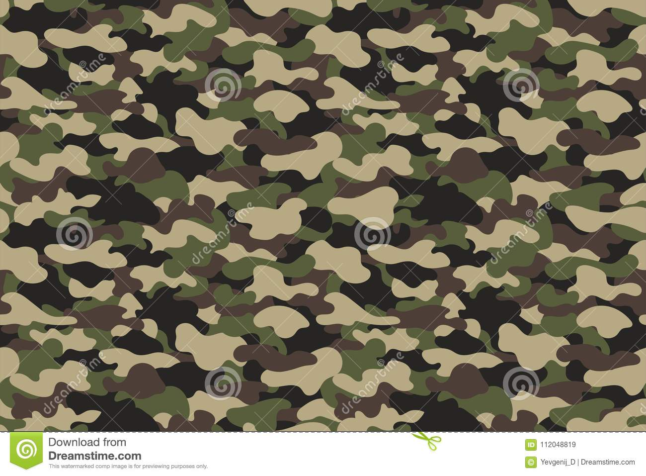 Camouflage seamless pattern military clothing texture background download camouflage seamless pattern military clothing texture background with green and brown foliage stock vector toneelgroepblik Choice Image