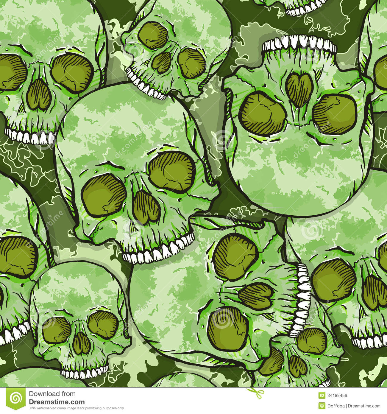 camouflage-skull-pattern-background-vect