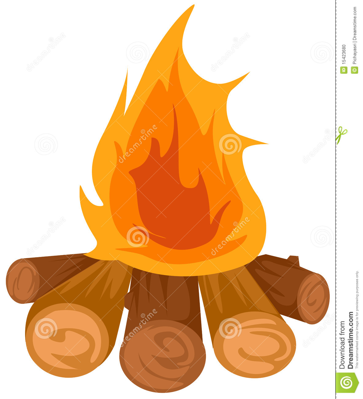 free clip art fire pit - photo #22