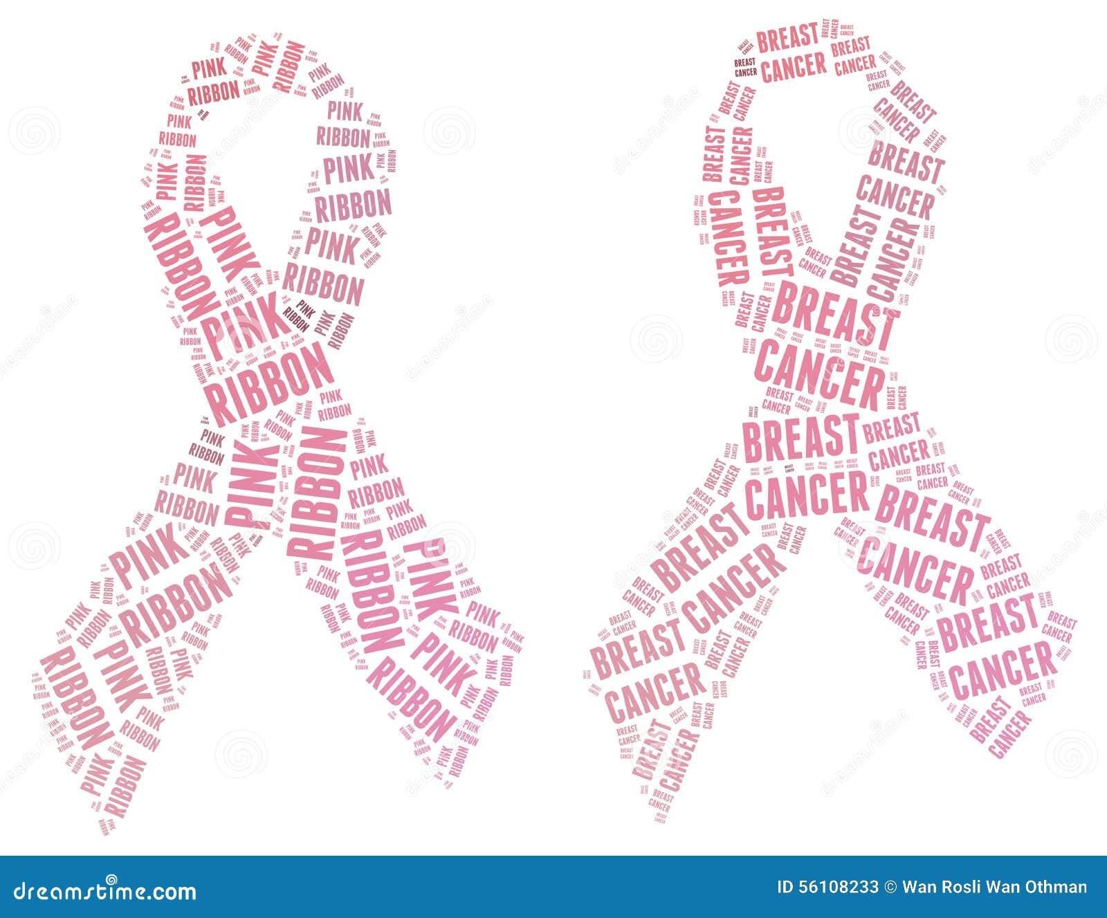 Campanha cor-de-rosa da fita - campign do câncer da mama