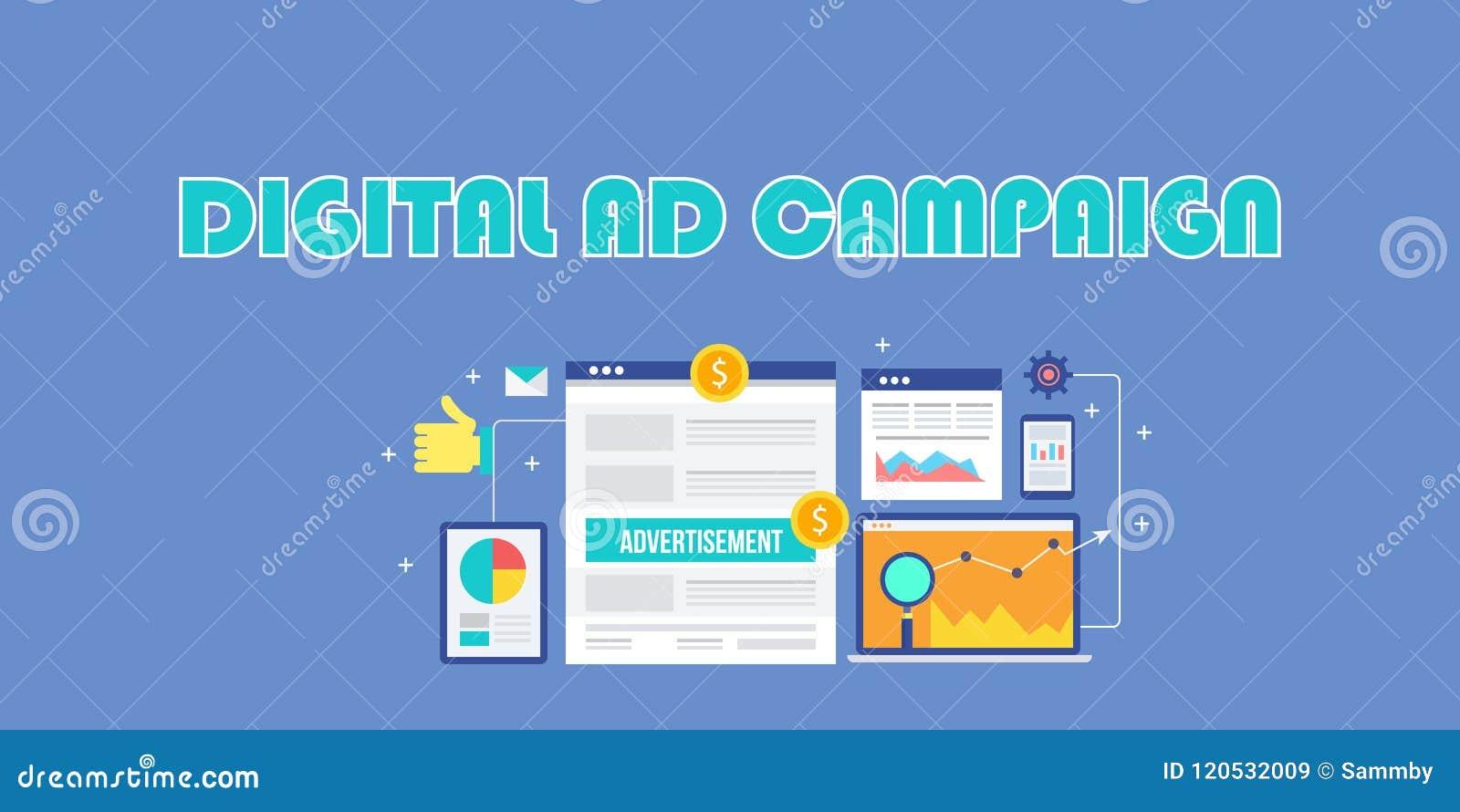 Campanha de publicidade de Digitas, propaganda do Internet, anúncios sociais dos meios, mercado móvel, conceito da propaganda da