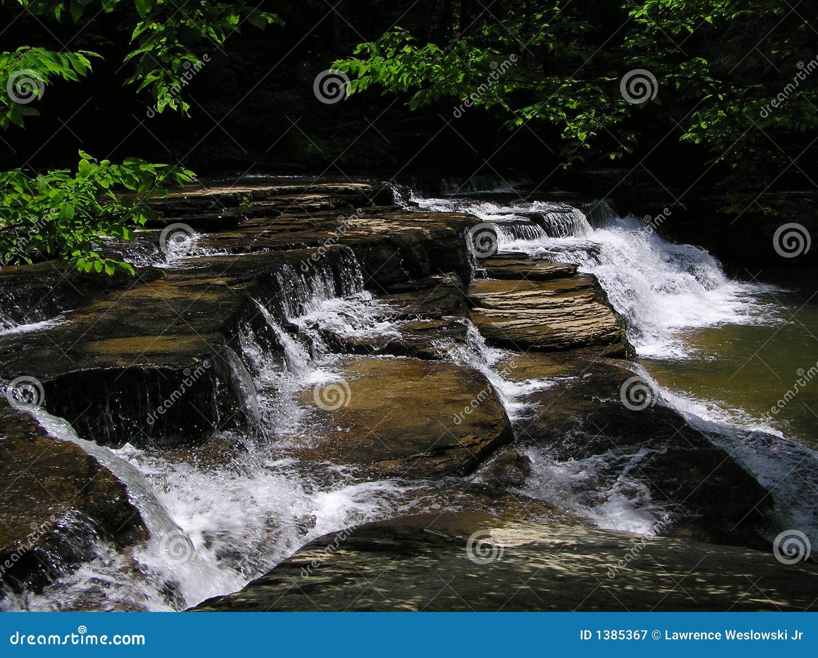 Campbell Creek Falls, Camp Creek State Park, West Virginia