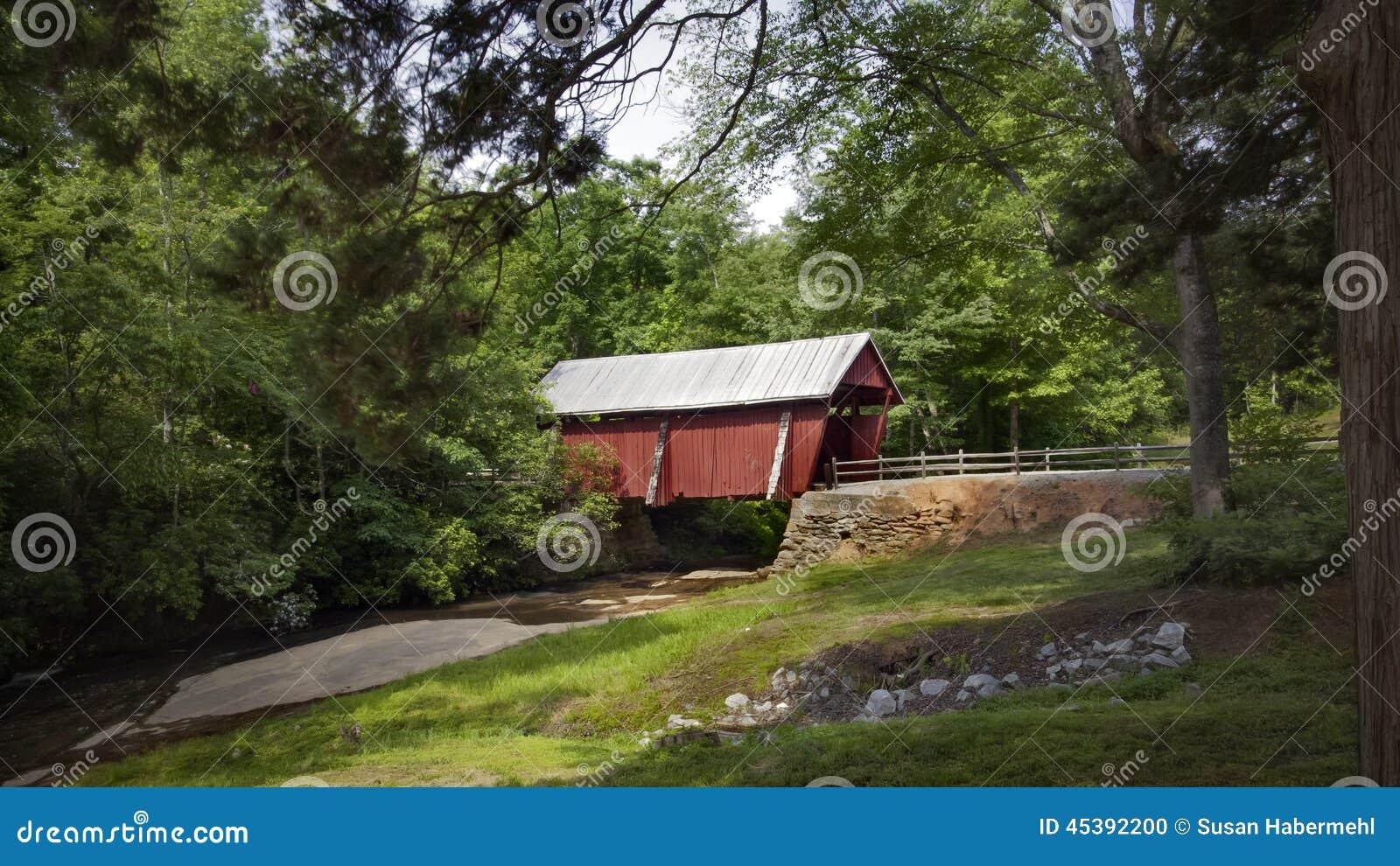 Campbells täckte bro i South Carolina