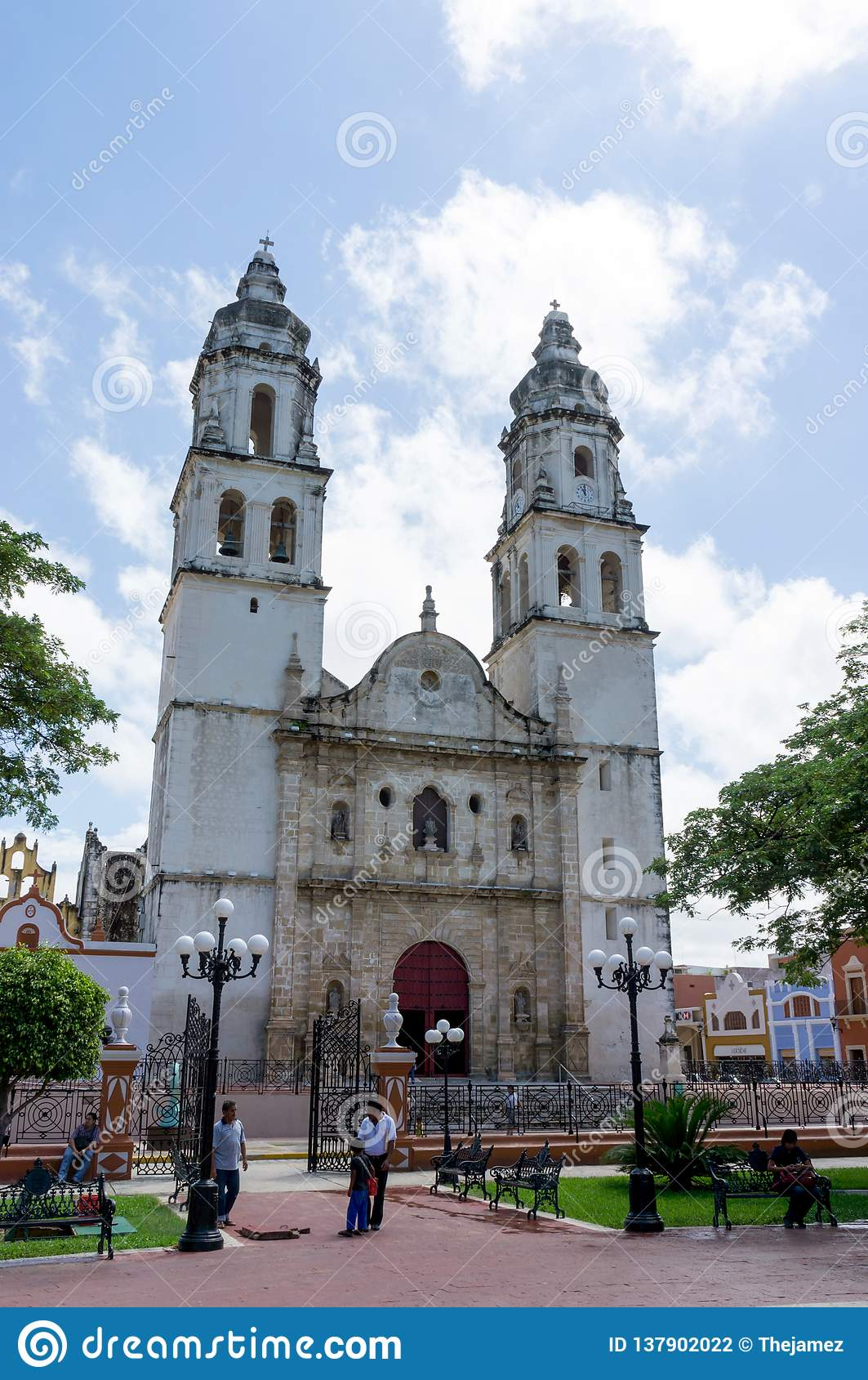 Campeche-Kathedrale, Kirche im Stadtzentrum, Campeche, Mexiko