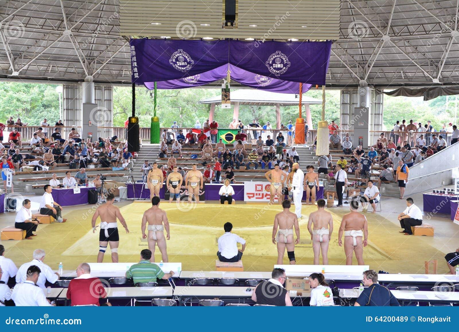 Campeonato 2015 del mundo del sumo en OSAKA - JAPÓN