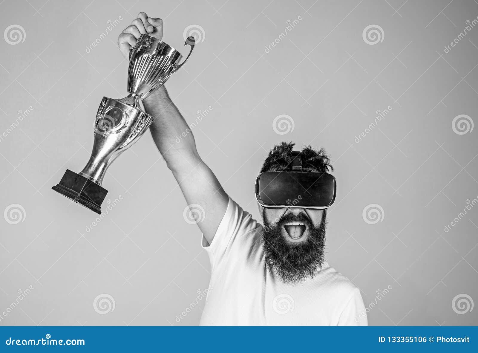 Campeonato en línea Competencia virtual del ganador del hombre Victoria de la sensación en juegos de la realidad virtual Alcance