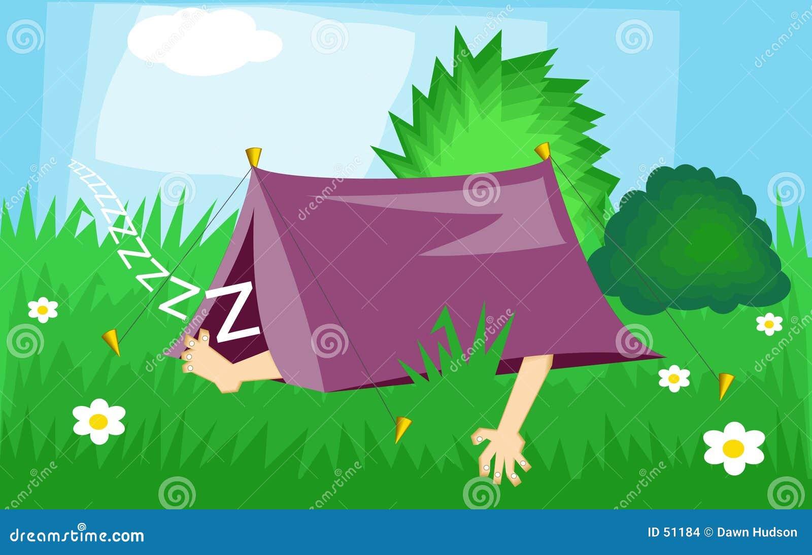 Download Camper illustration de vecteur. Illustration du vacances - 51184