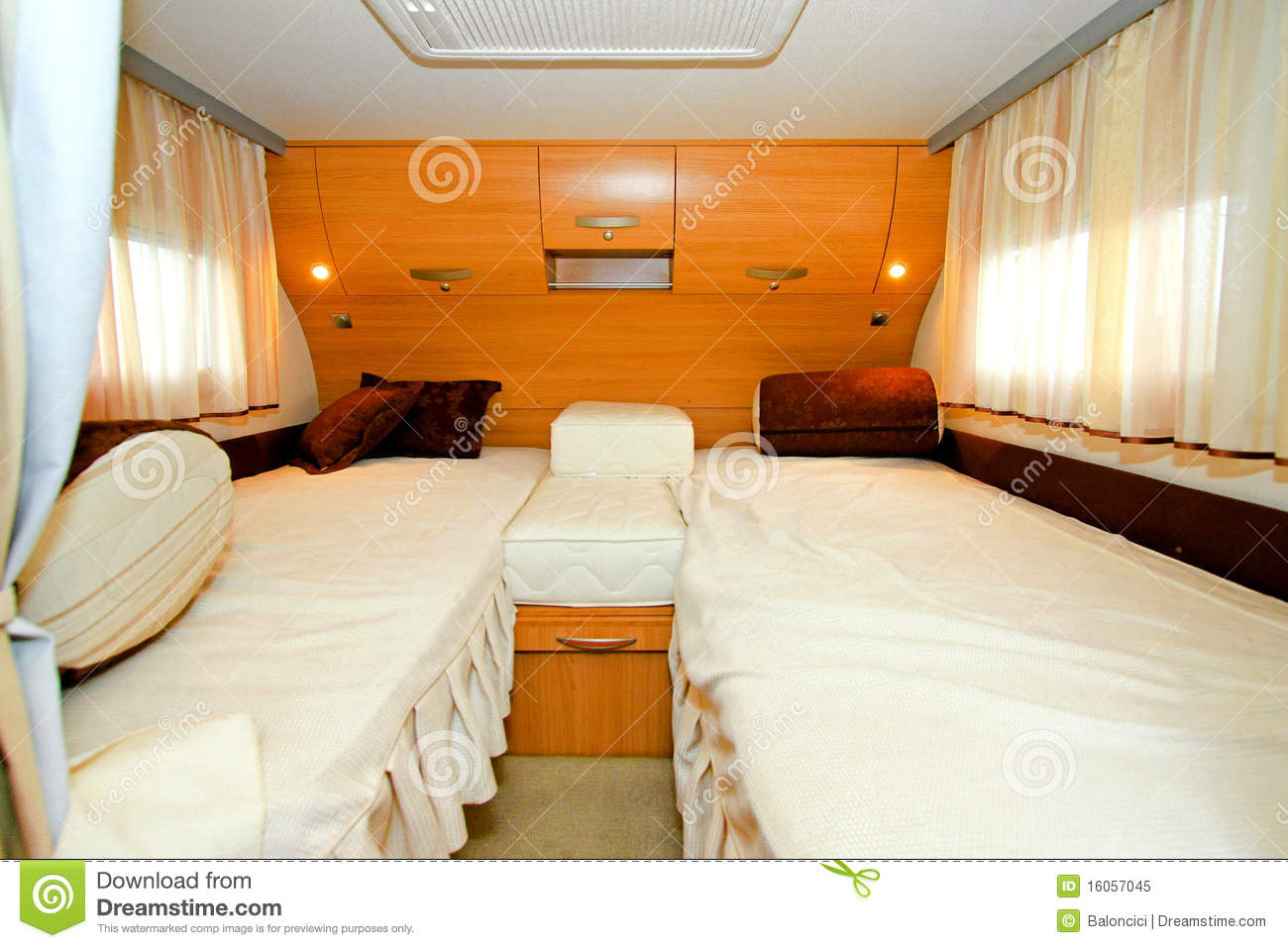Camper Bedroom Royalty Free Stock Photo Image 16057045