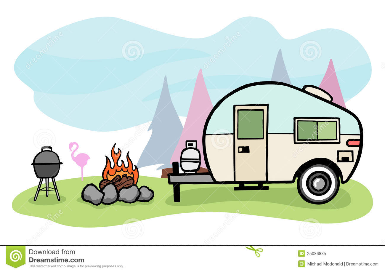 Camper Stock Illustrations 5957 Vectors Clipart