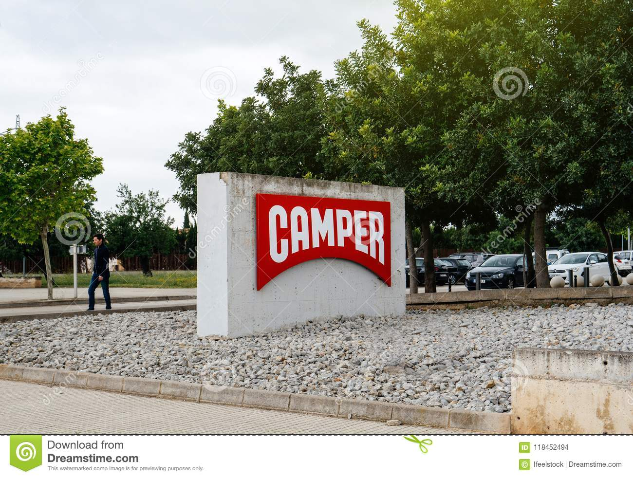 In Shoe Stock Afbeelding Camper Headquarter Redactionele Inca Factory C7Ttqwa
