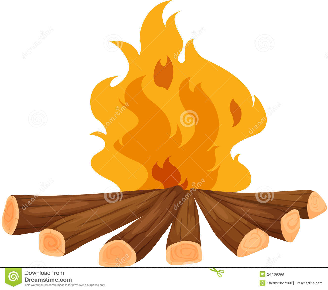 Campfire Royalty Free Stock Photos - Image: 24469398