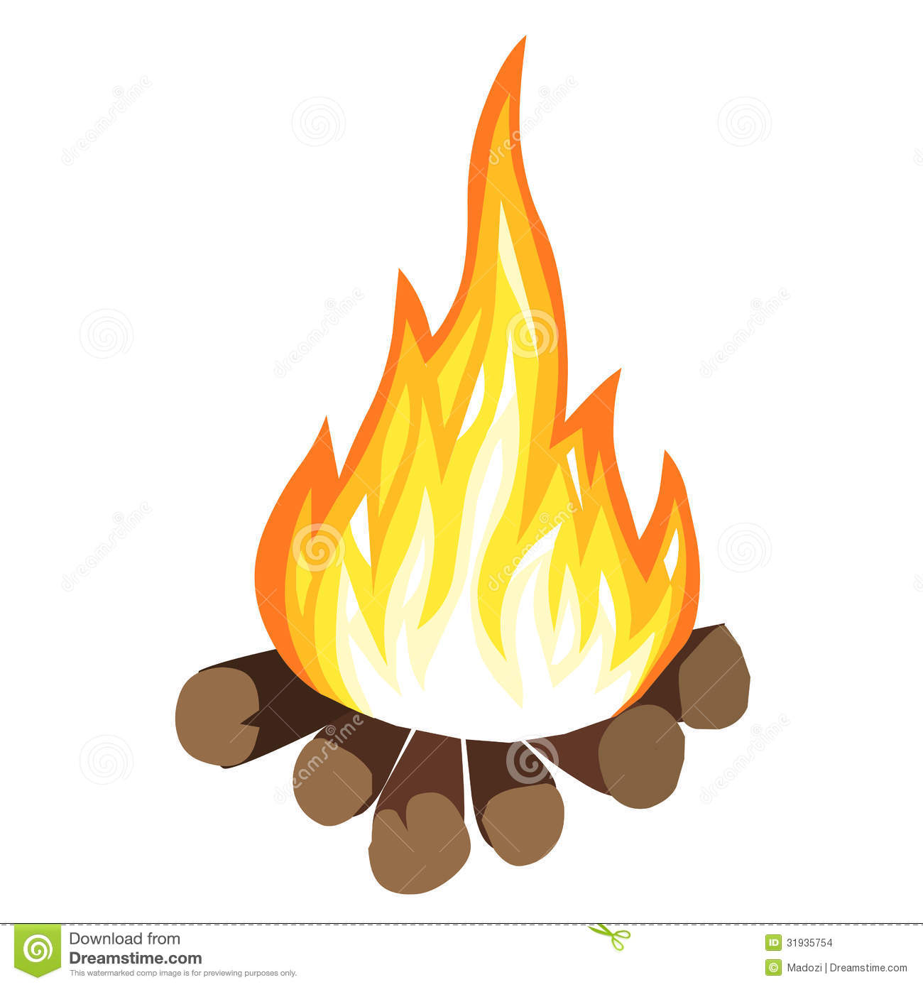 Campfire Stock Images - Image: 31935754