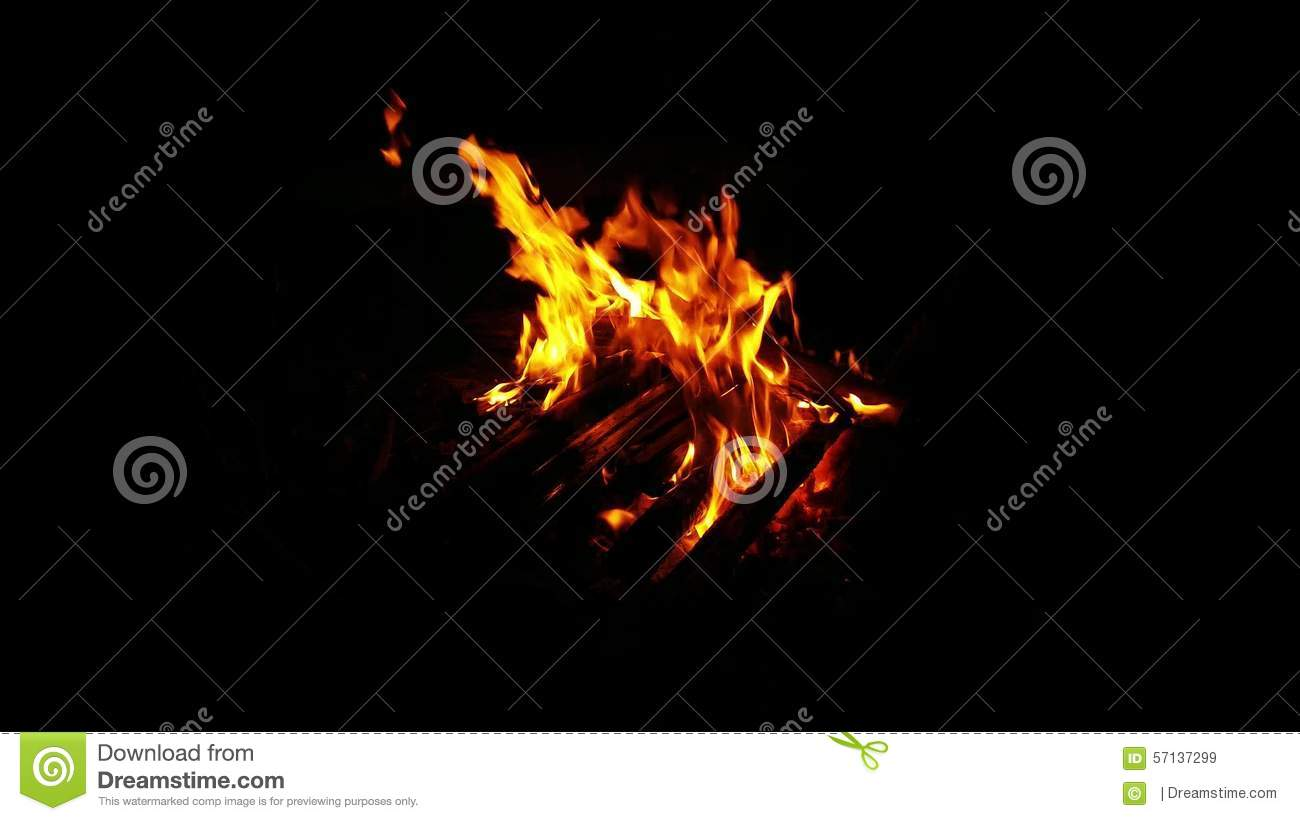 campfire outdoor fireplace video stock video video 57137299