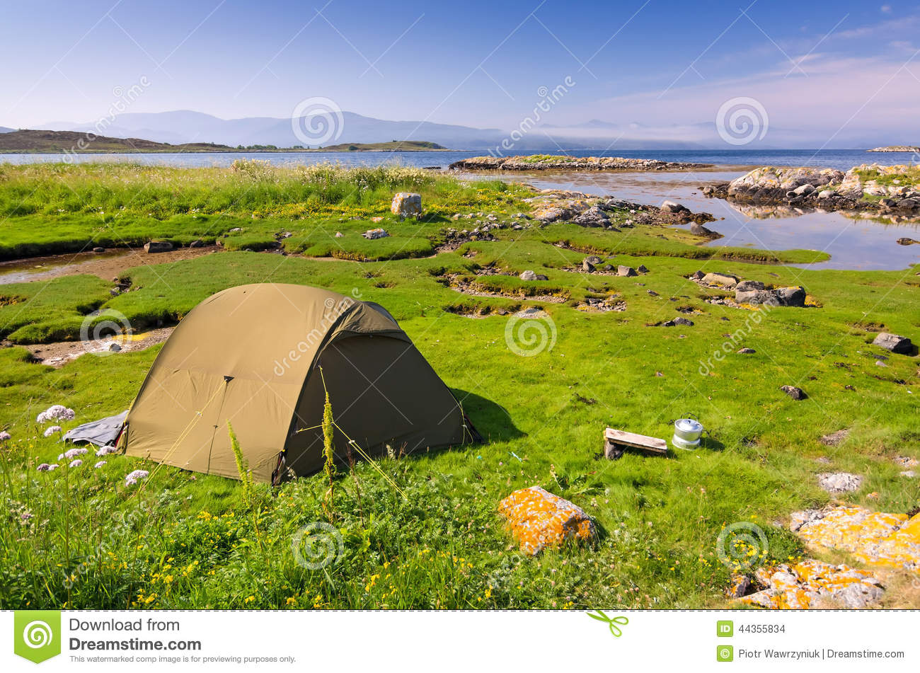 Camping Scenery Pictures