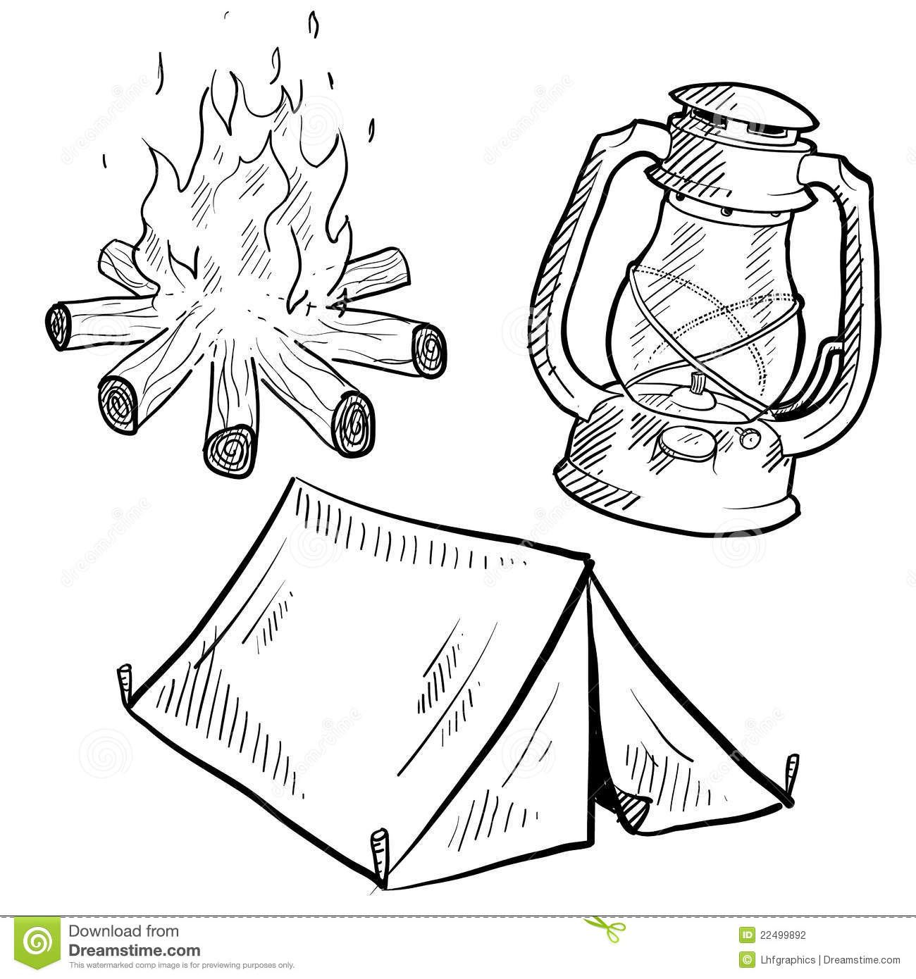 Funny Camping Pictures Clip Art