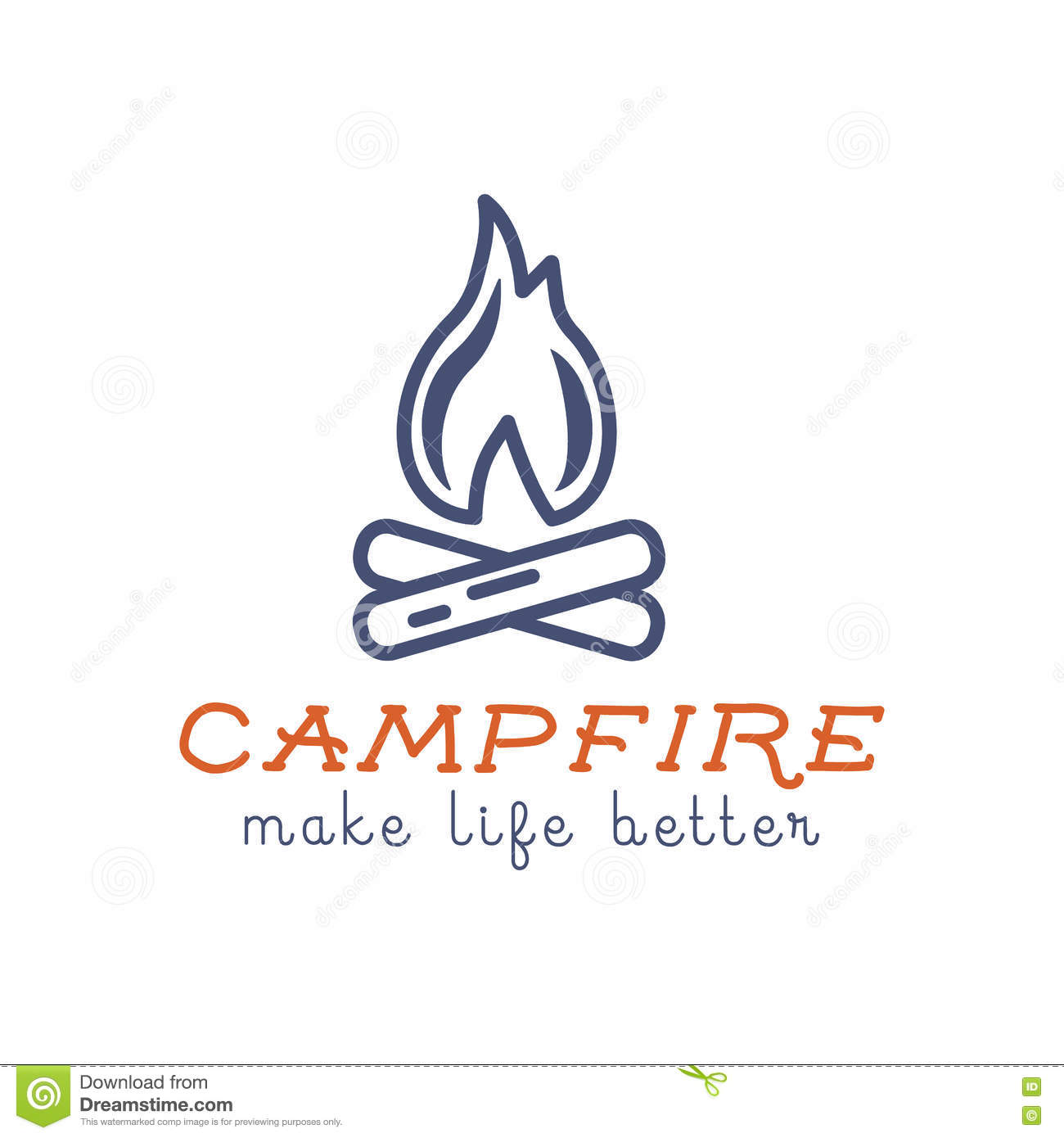 Camping Tee Shirt Life is Better by The Campfire T Shirt Design