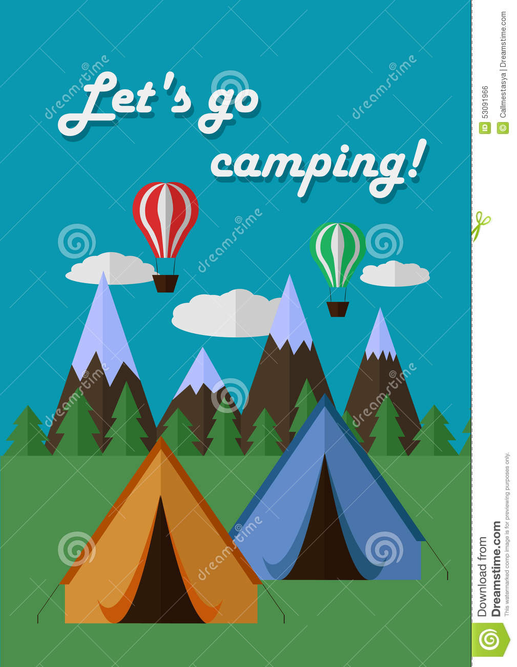 Camping Poster Images