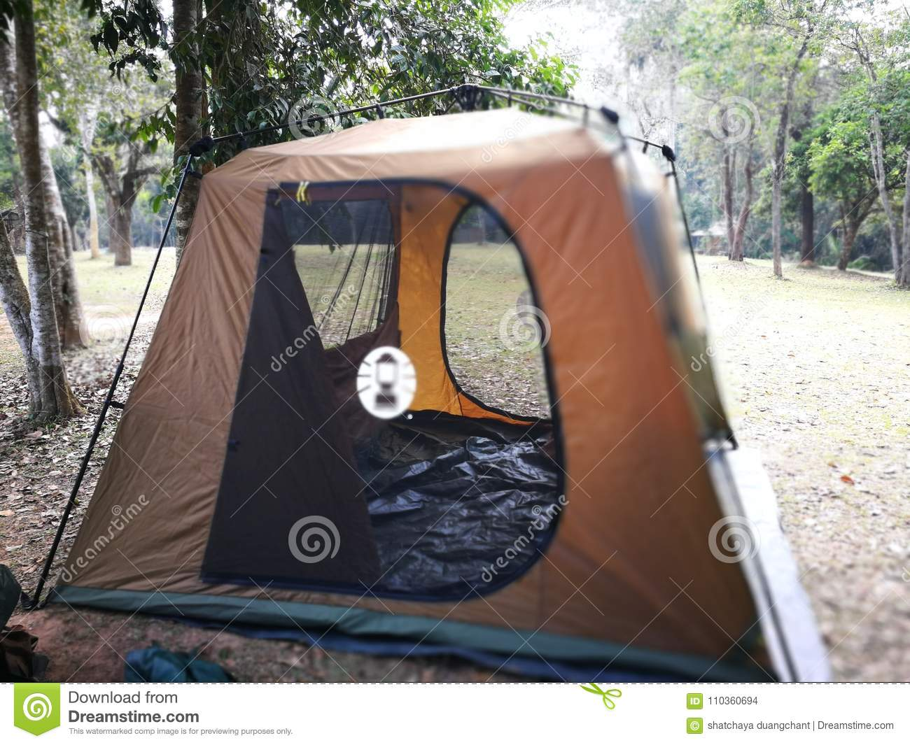 Camping Tent In Thailand Nation Park Editorial Stock Image Image Of Activity Extreme 110360694