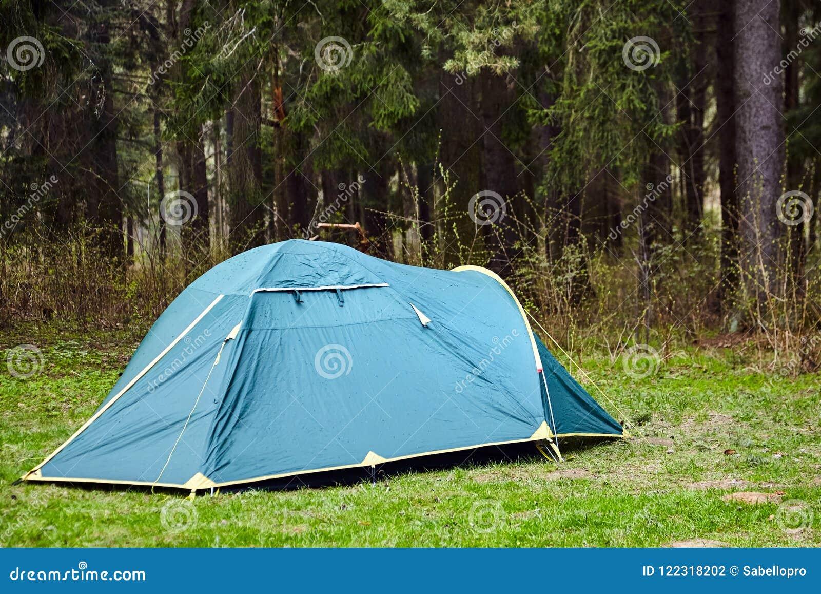 Camping Toeristentent in het bos