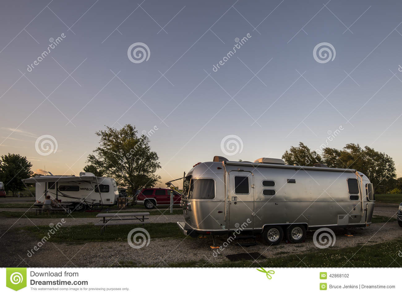 Camping In Usa Editorial Photography Image Of Tour Camping 42868102