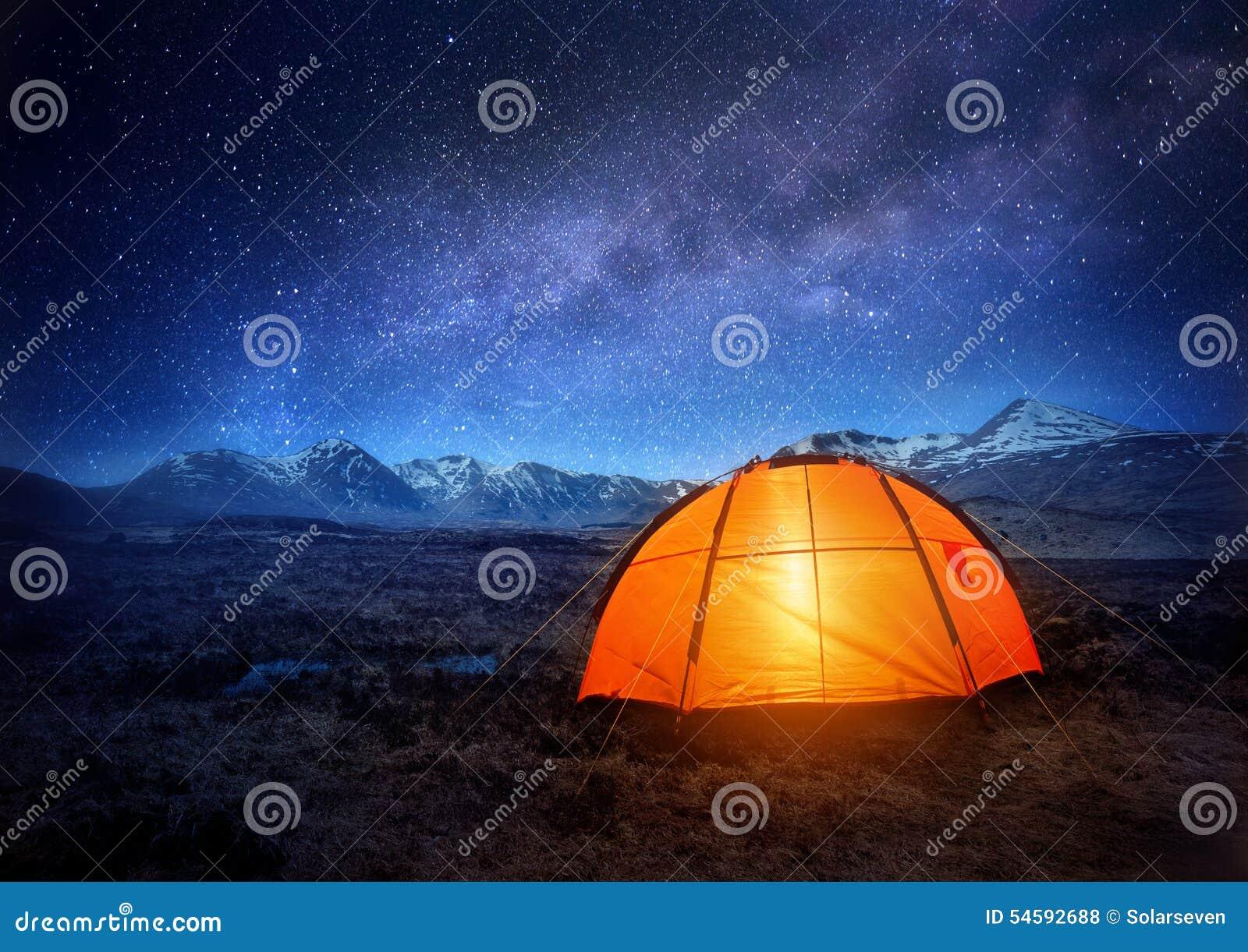 Campingowe gwiazdy