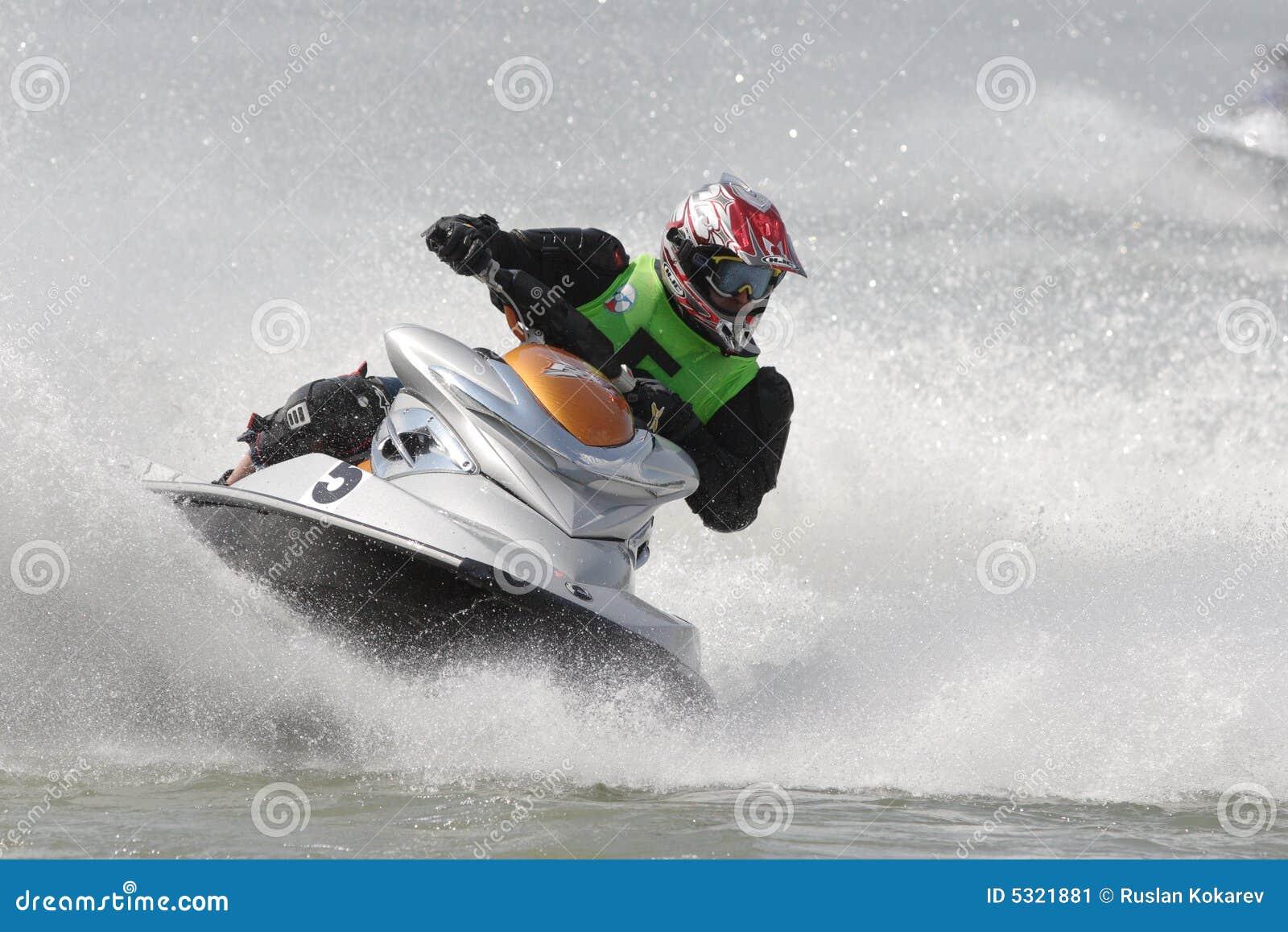 Download Campionato di Aquabike. fotografia editoriale. Immagine di corsa - 5321881